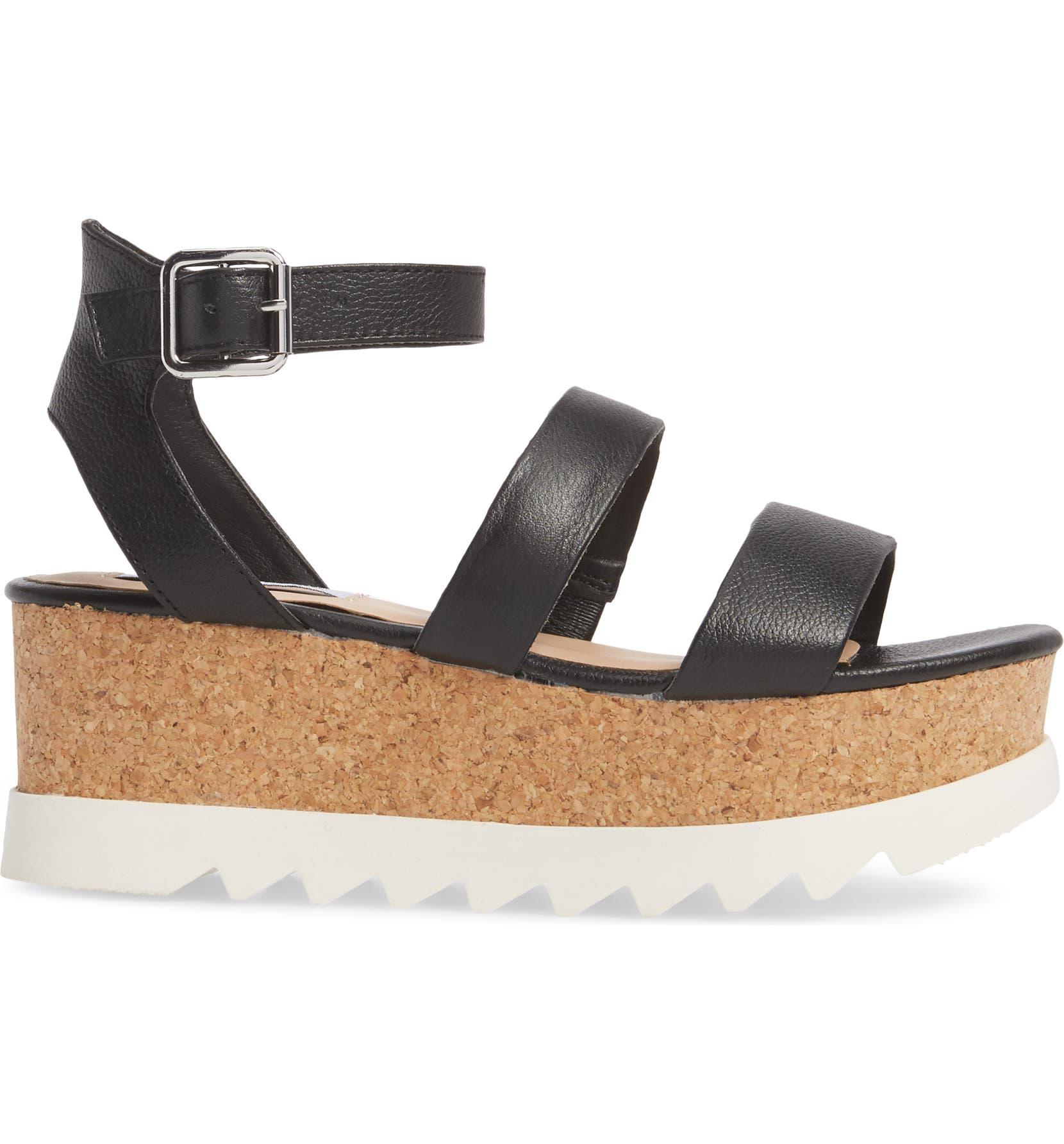 6edd6c4f21a4 Steve Madden Kirsten Layered Platform Sandal (Women)