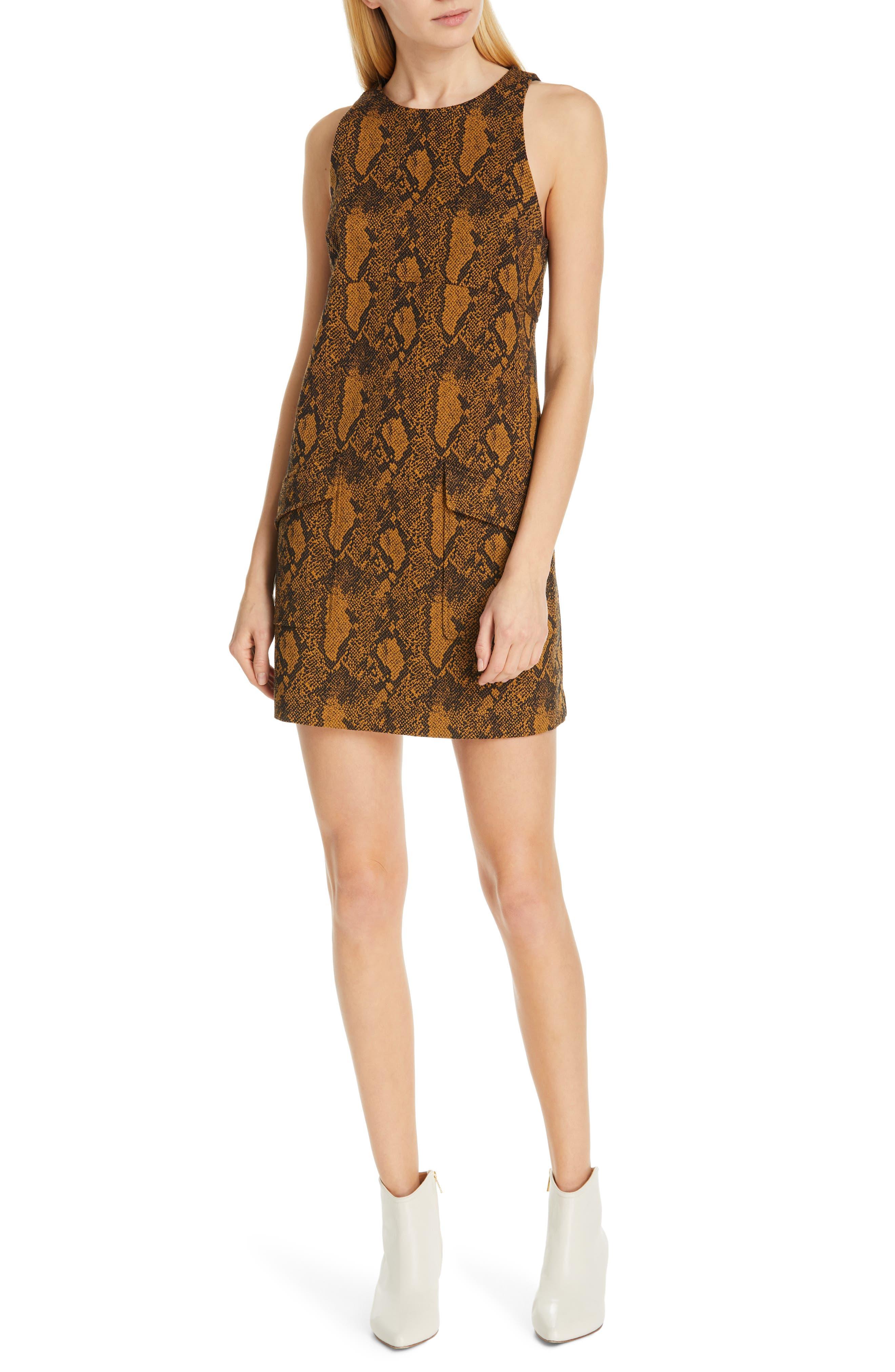 Joie Tonie Dress, Orange