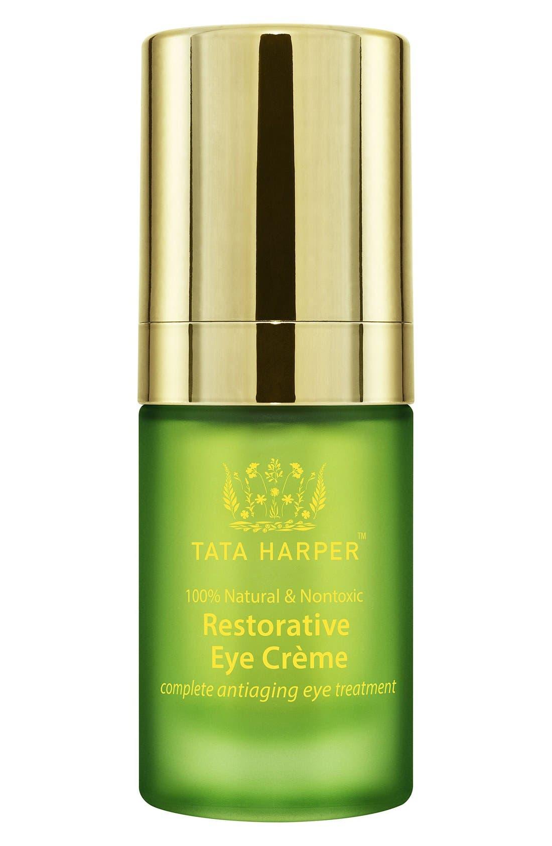 TATA HARPER SKINCARE, Restorative Eye Crème, Alternate thumbnail 4, color, NO COLOR