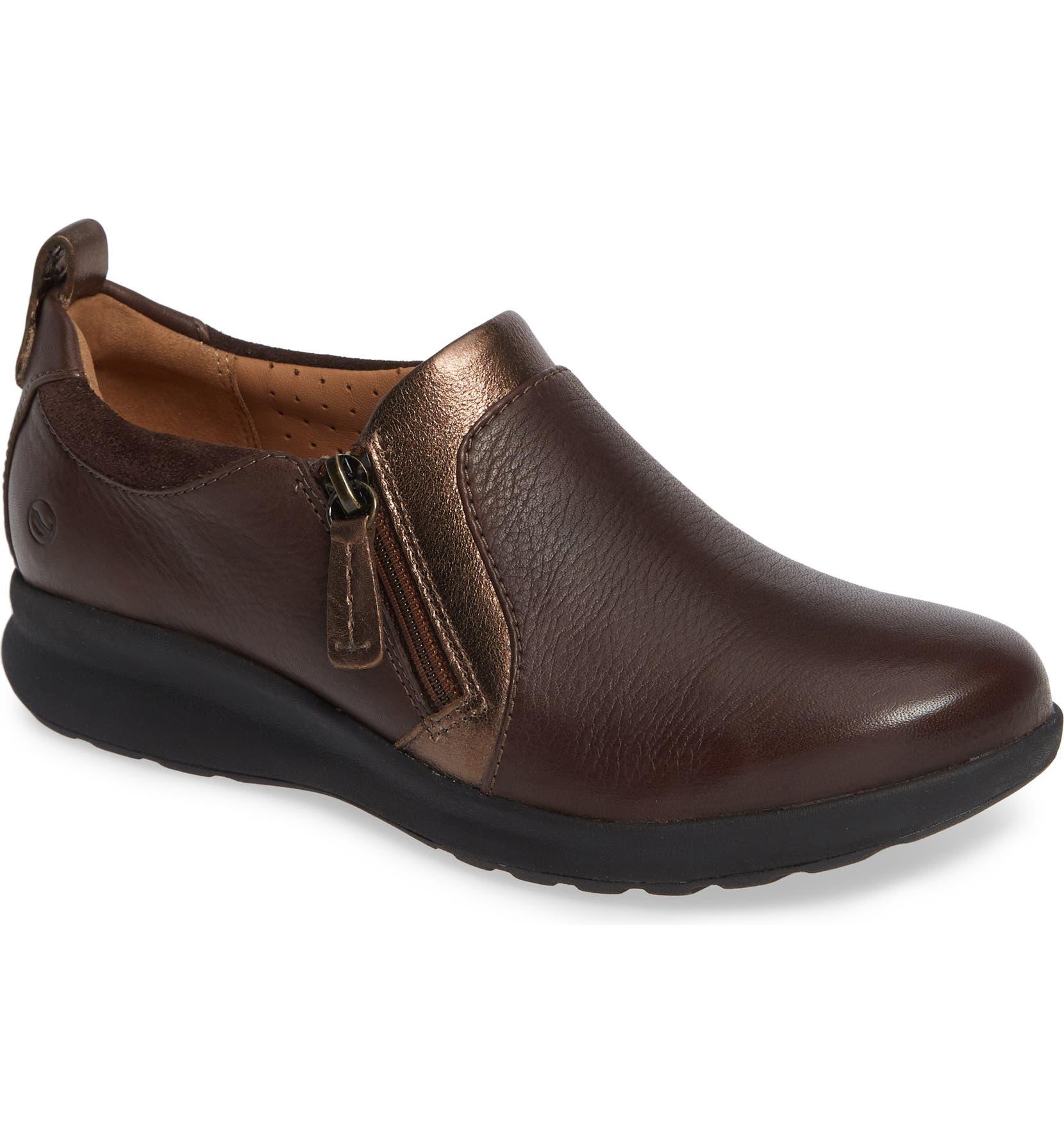 592fae11f41 Clarks® Un Adorn Zip Sneaker (Women)