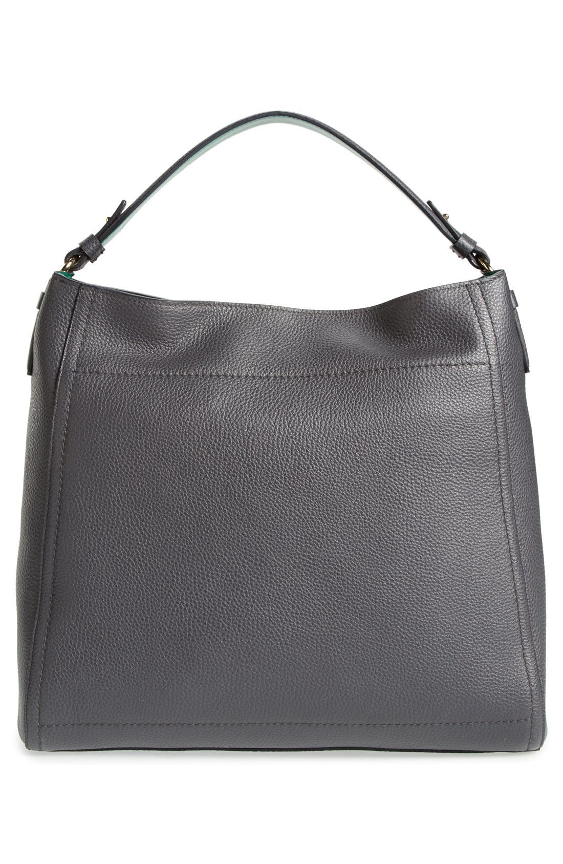 SALVATORE FERRAGAMO, 'Ally' Hobo, Alternate thumbnail 5, color, 020
