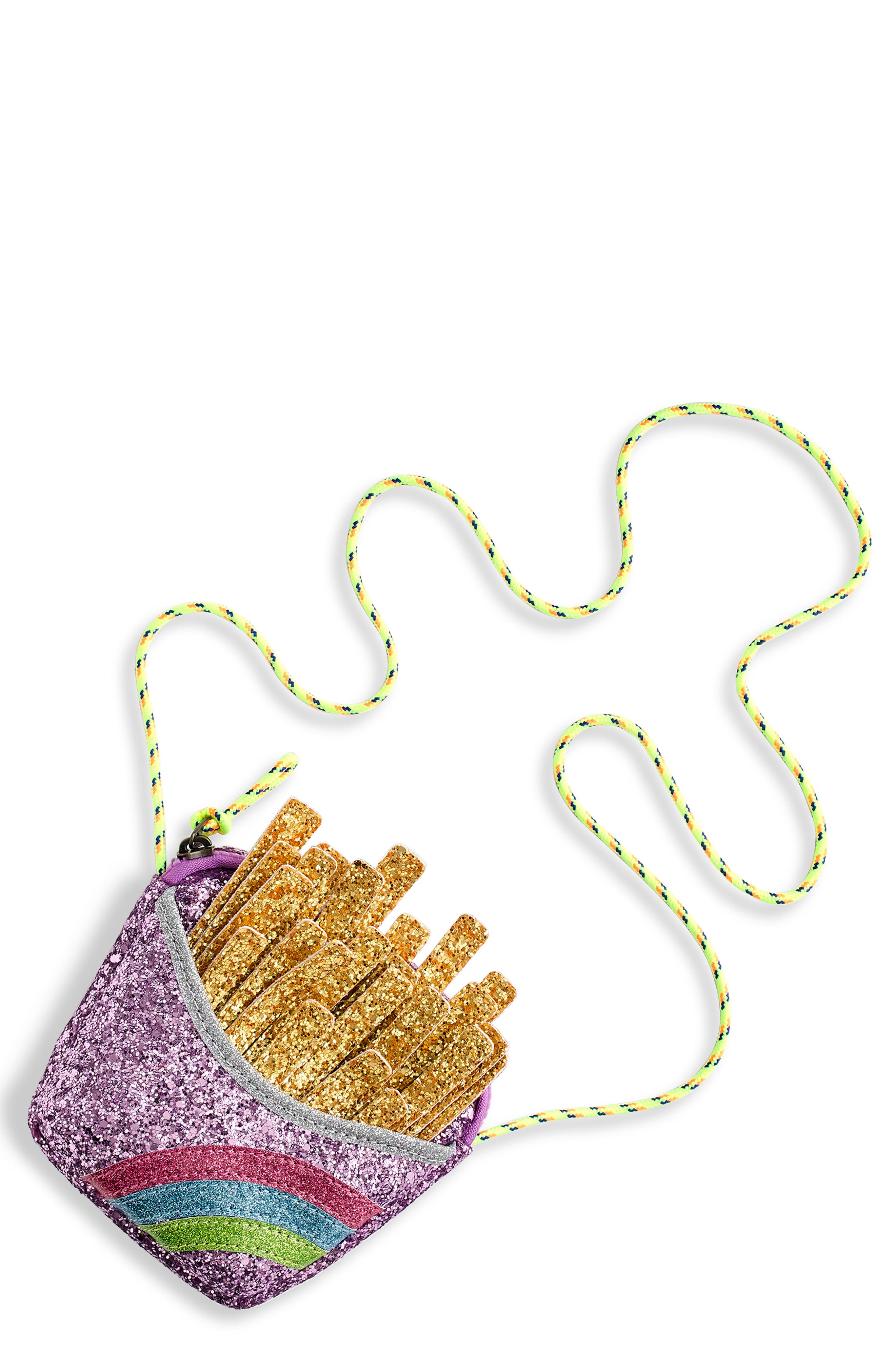 CREWCUTS BY J.CREW, French Fries Bag, Main thumbnail 1, color, RAINBOW