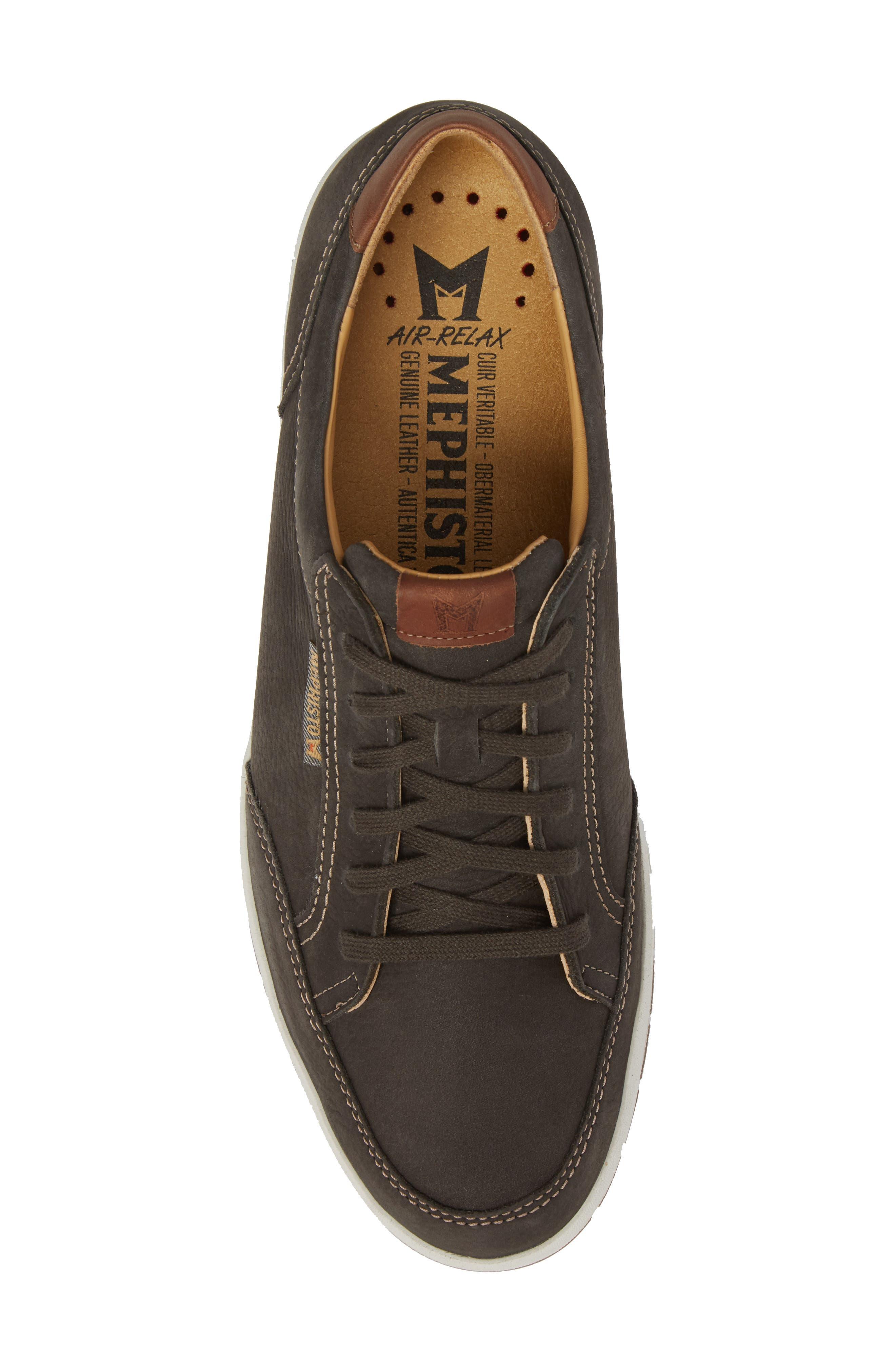 MEPHISTO, 'Ludo' Sneaker, Alternate thumbnail 5, color, GRAPHITE