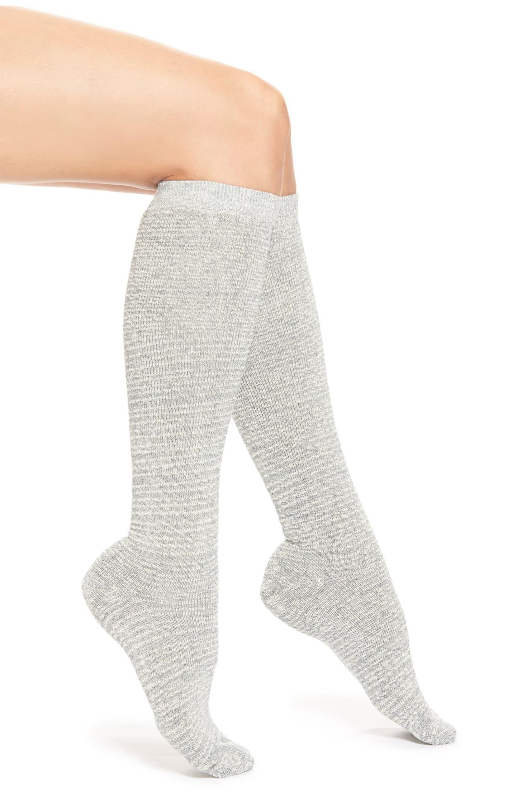 da882ea0924 Lemon  Eyelash  Cotton Blend Knee High Socks
