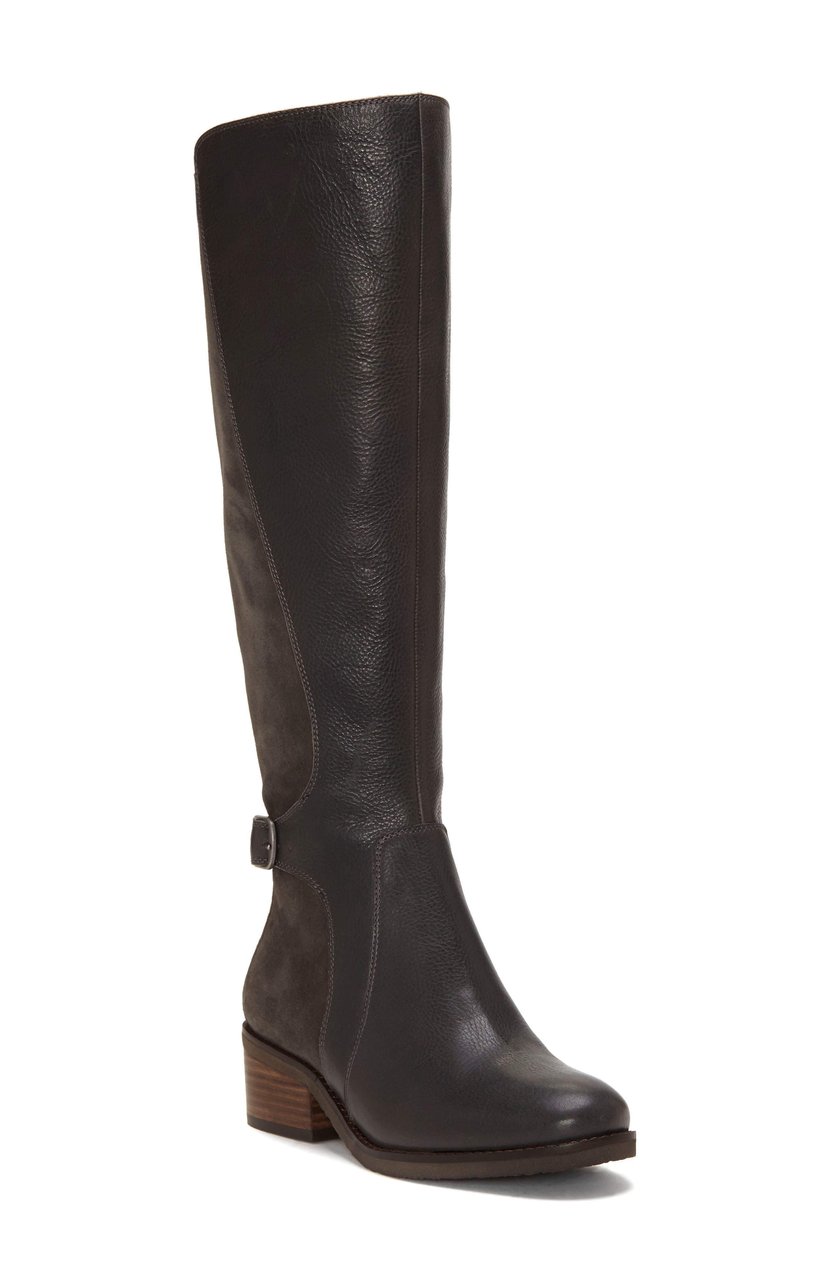 Lucky Brand Timinii Tall Boot- Grey