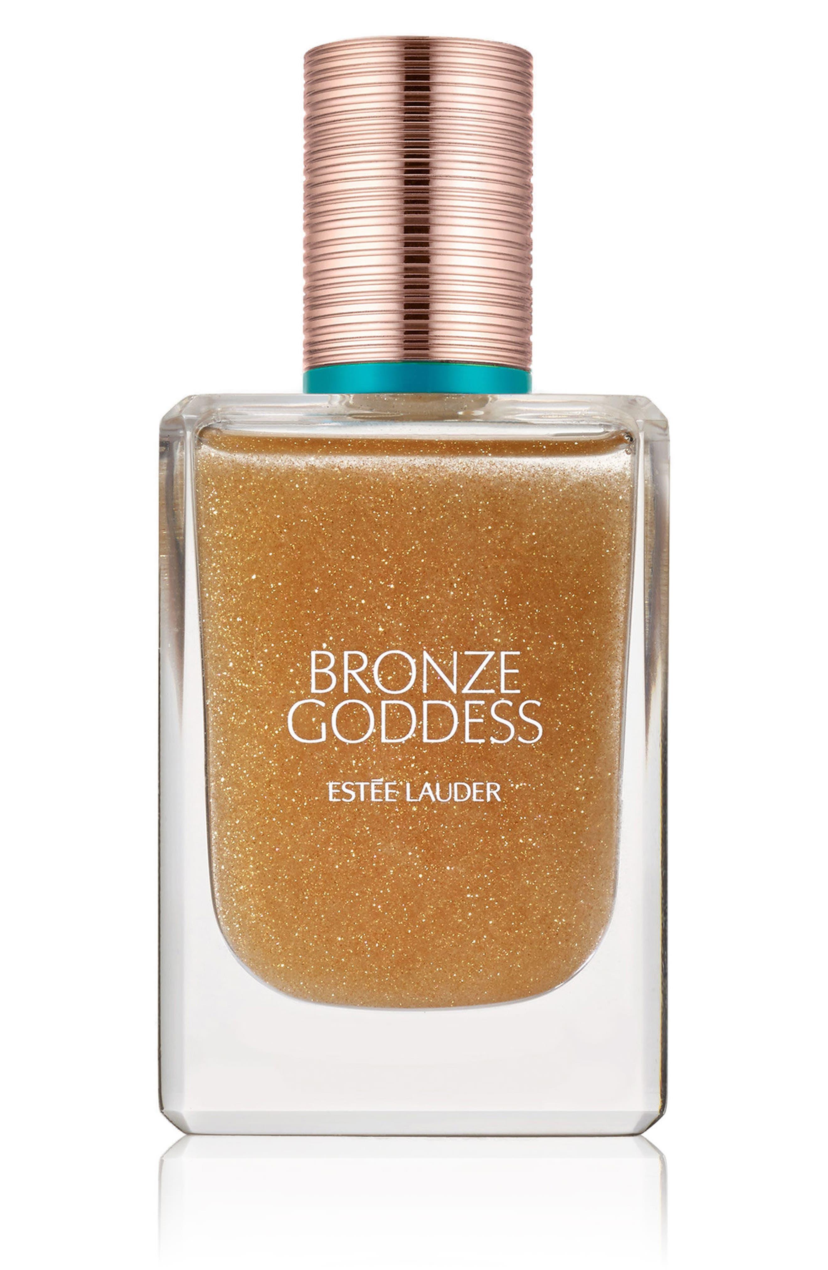ESTÉE LAUDER Bronze Goddess Shimmering Oil Spray for Hair & Body, Main, color, 000