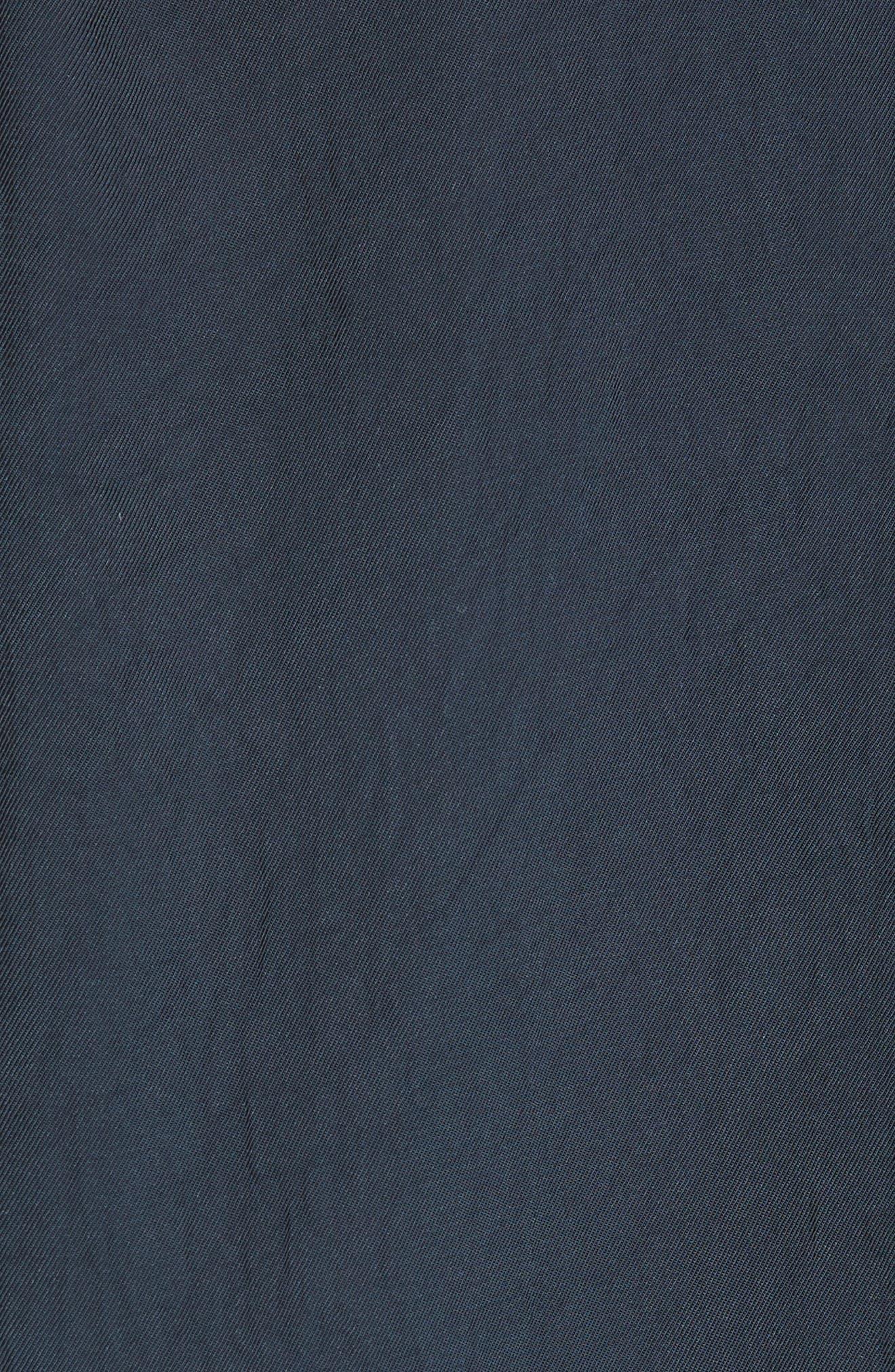 RAG & BONE, Vanessa Zip Front Blouse, Alternate thumbnail 5, color, SALUTE