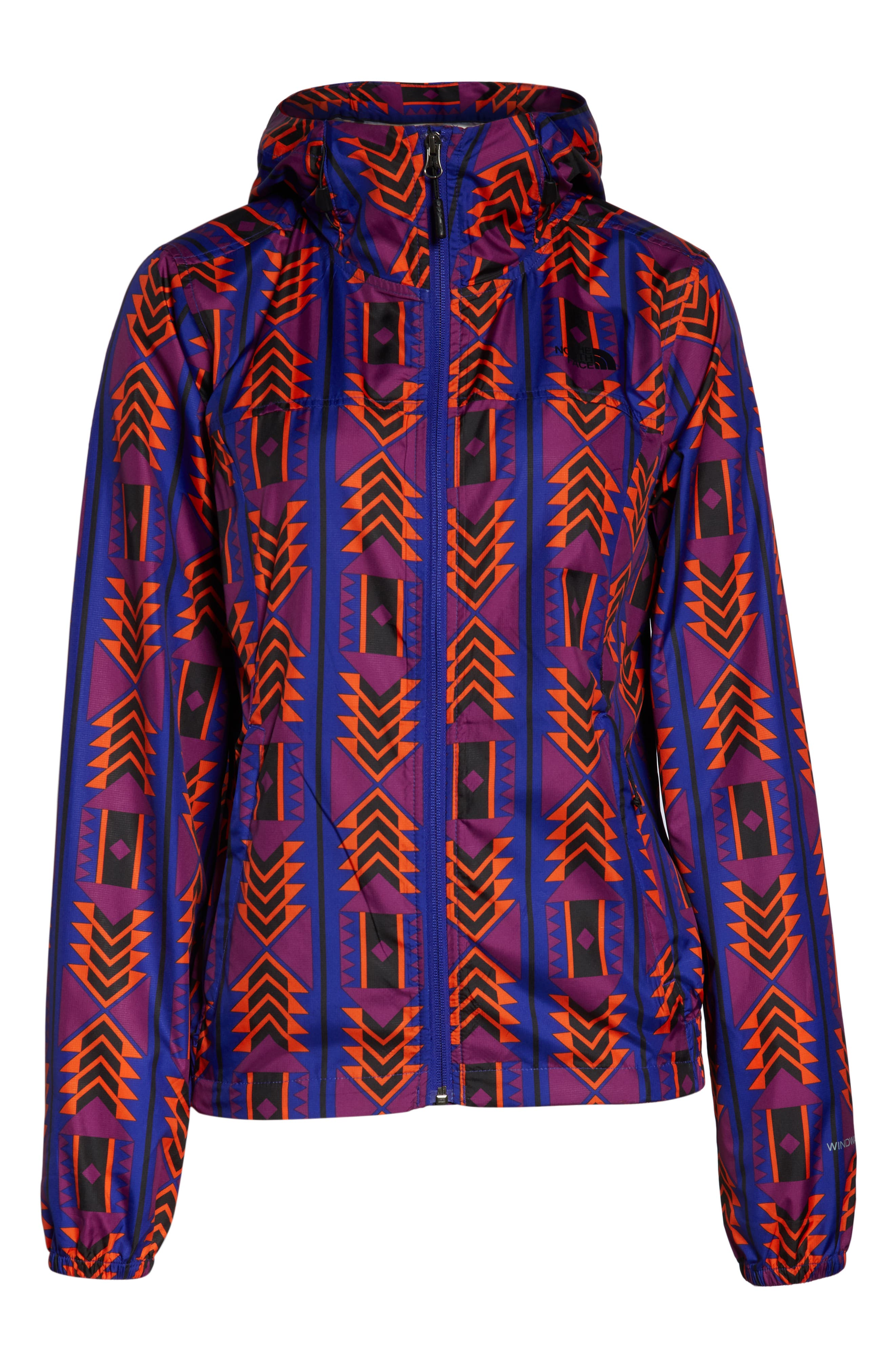 THE NORTH FACE, Print Cyclone 3.0 WindWall<sup>®</sup> Jacket, Alternate thumbnail 6, color, AZTEC BLUE 1992 RAGE PRINT