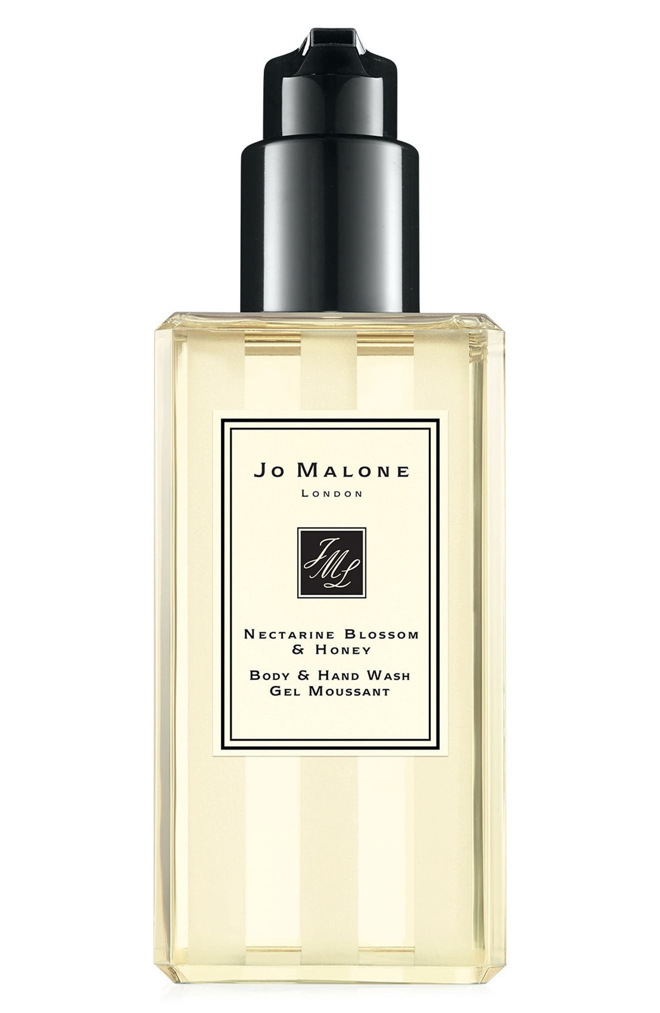 JO MALONE LONDON<SUP>™</SUP> Nectarine Blossom & Honey Body & Hand Wash, Main, color, NO COLOR
