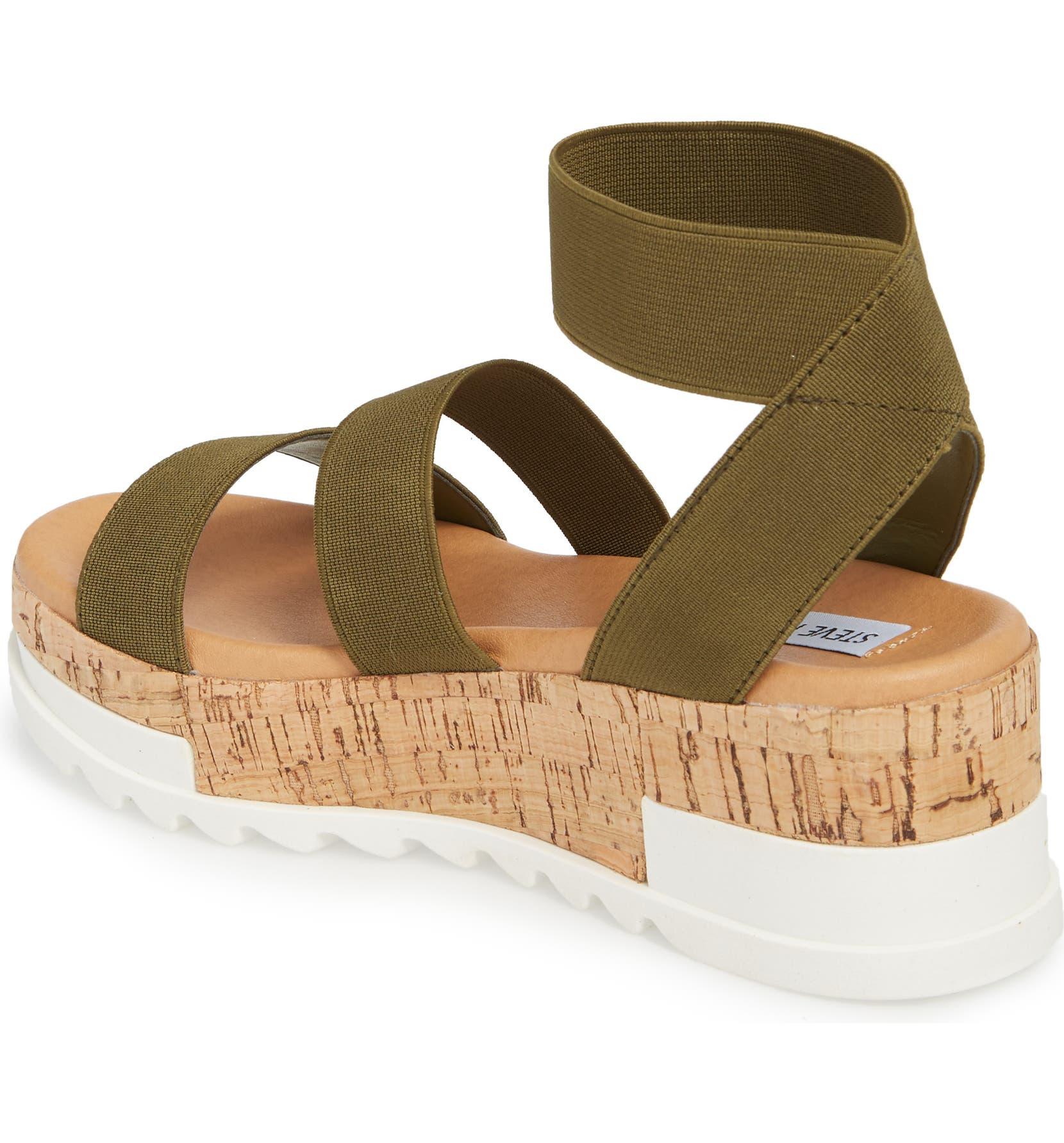 260edc43d352 Steve Madden Bandi Platform Wedge Sandal (Women)