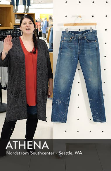 1954 501<sup>®</sup> Shrink To Fit Straight Leg Jeans, sales video thumbnail