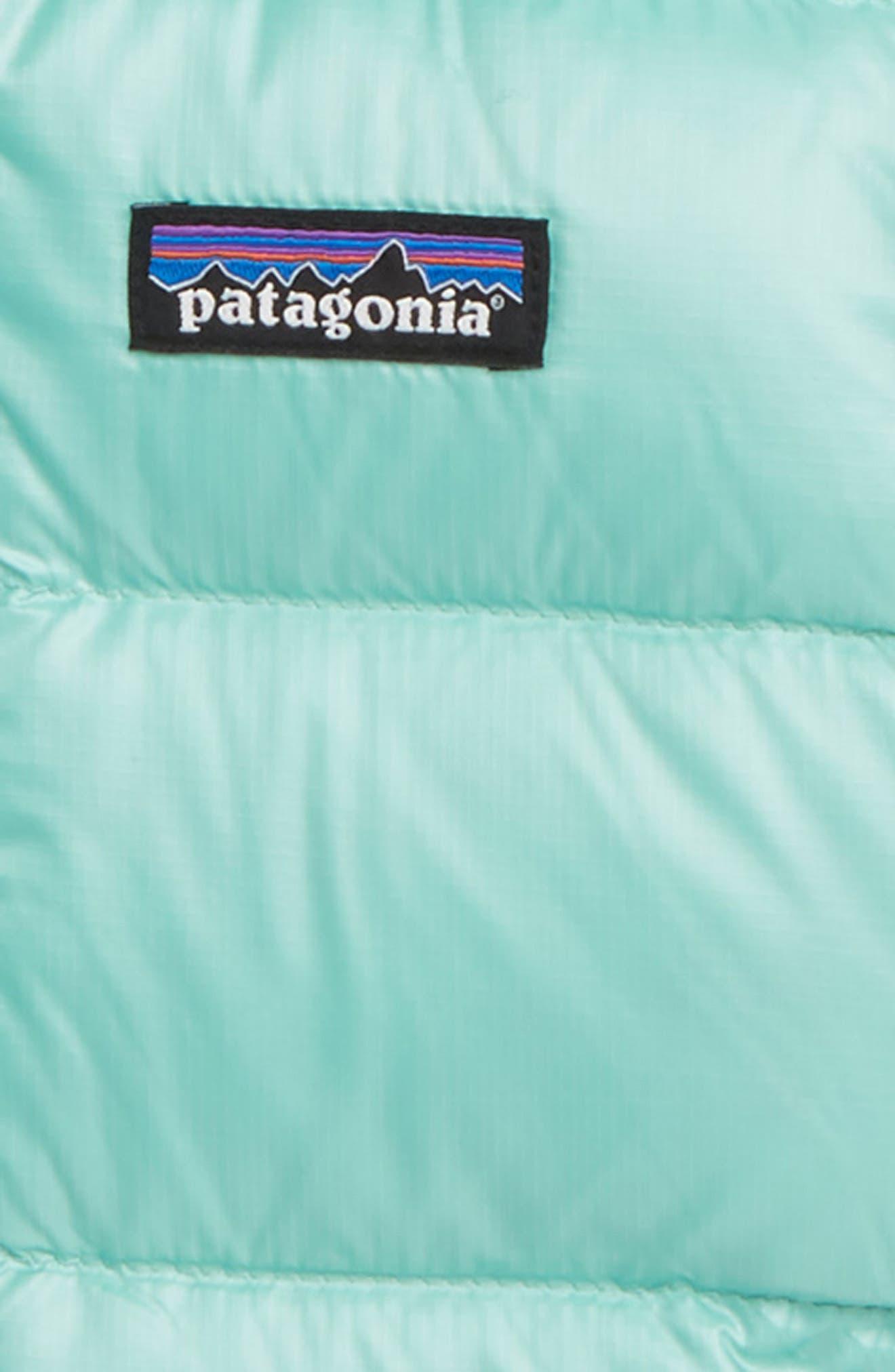 PATAGONIA, Hooded Down Jacket, Alternate thumbnail 2, color, VJOSA GREEN