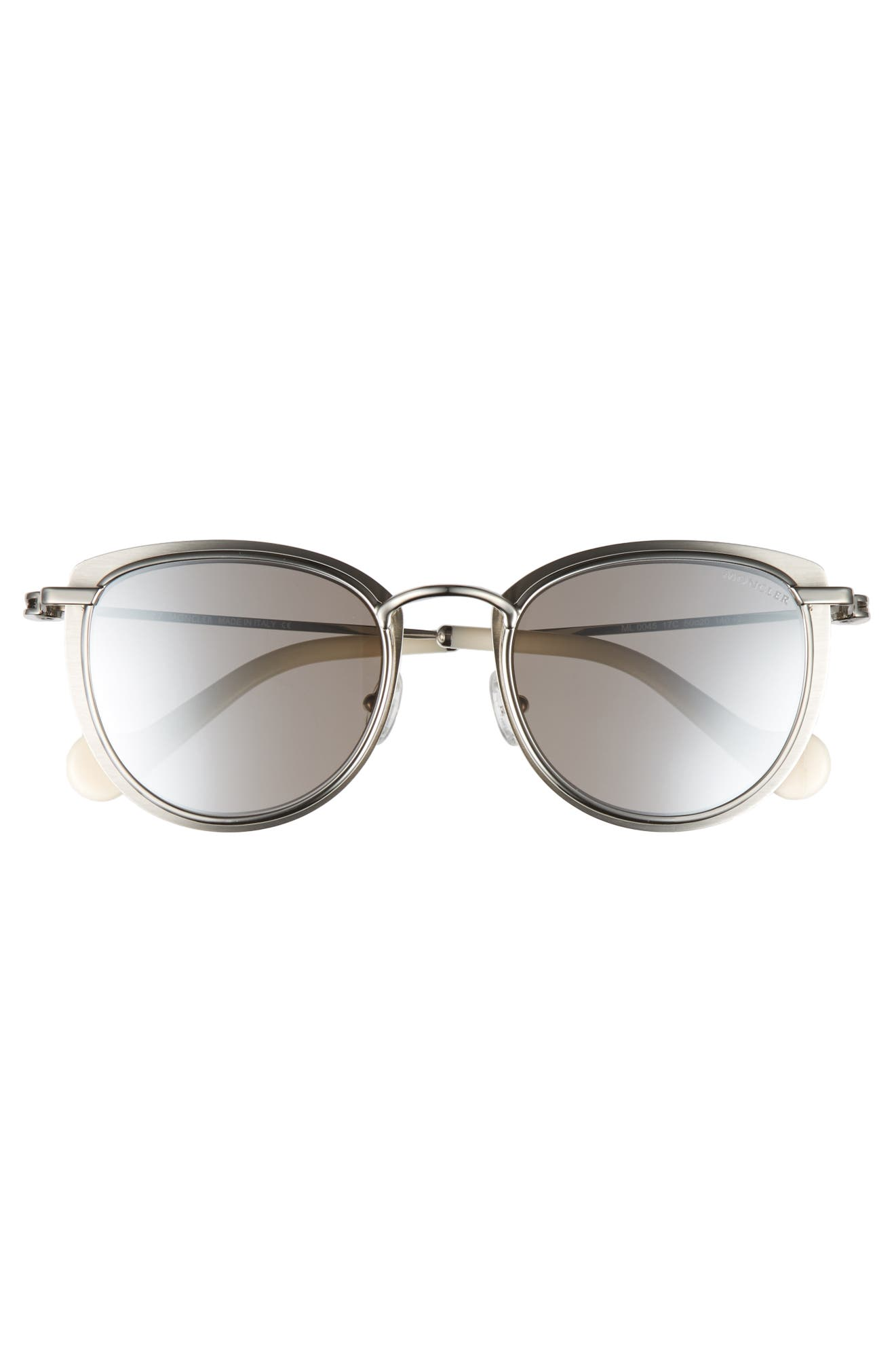1993fd3f3a0b Moncler 50mm Mirrored Geometric Sunglasses