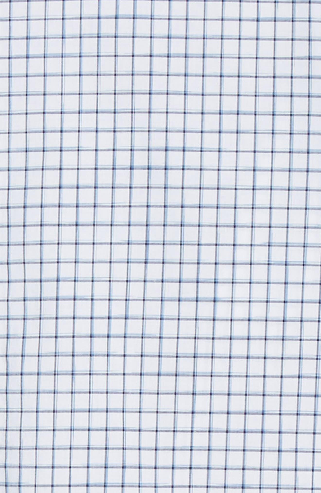 RODD & GUNN, Gowerville Regular Fit Check Sport Shirt, Alternate thumbnail 6, color, SNOW