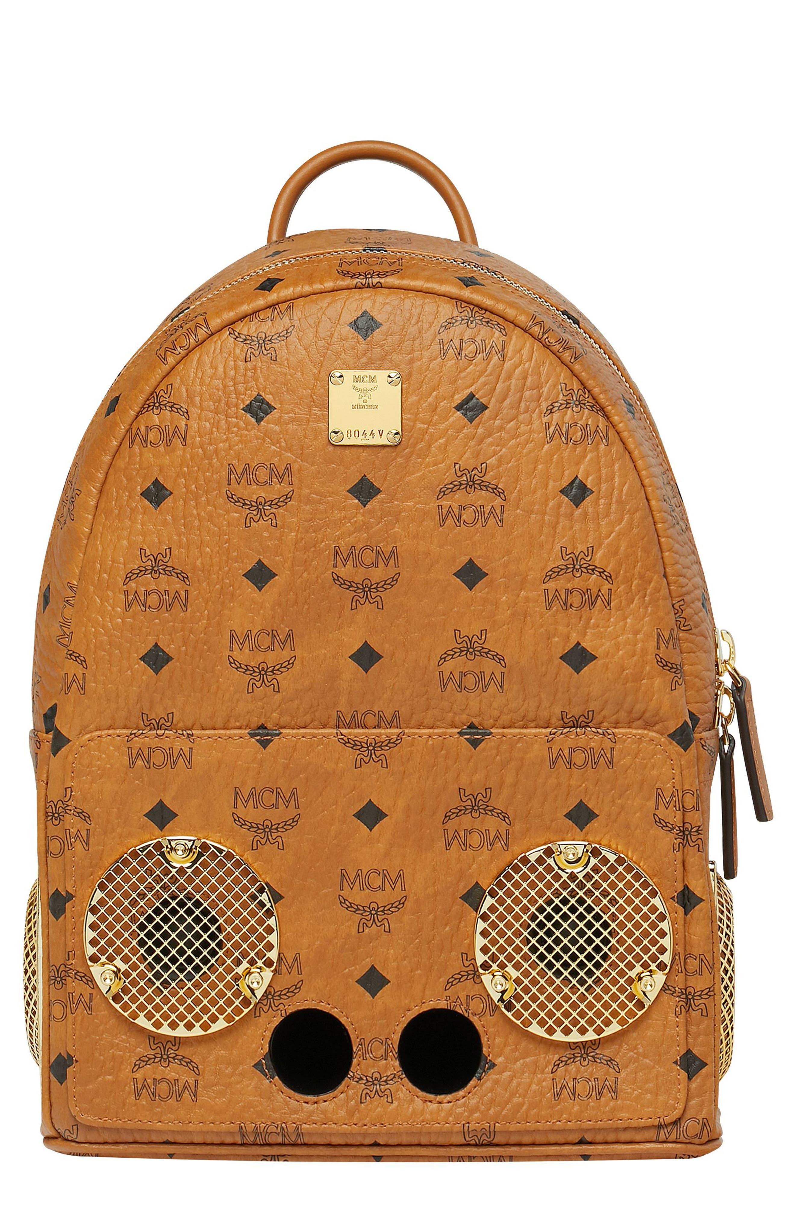 MCM x Wizpak Visetos Sound System Backpack, Main, color, 200