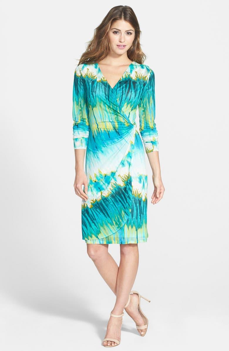 f4cb67dcbb1 Tommy Bahama  Aqua Lagoon  Twist Front Faux Wrap Dress