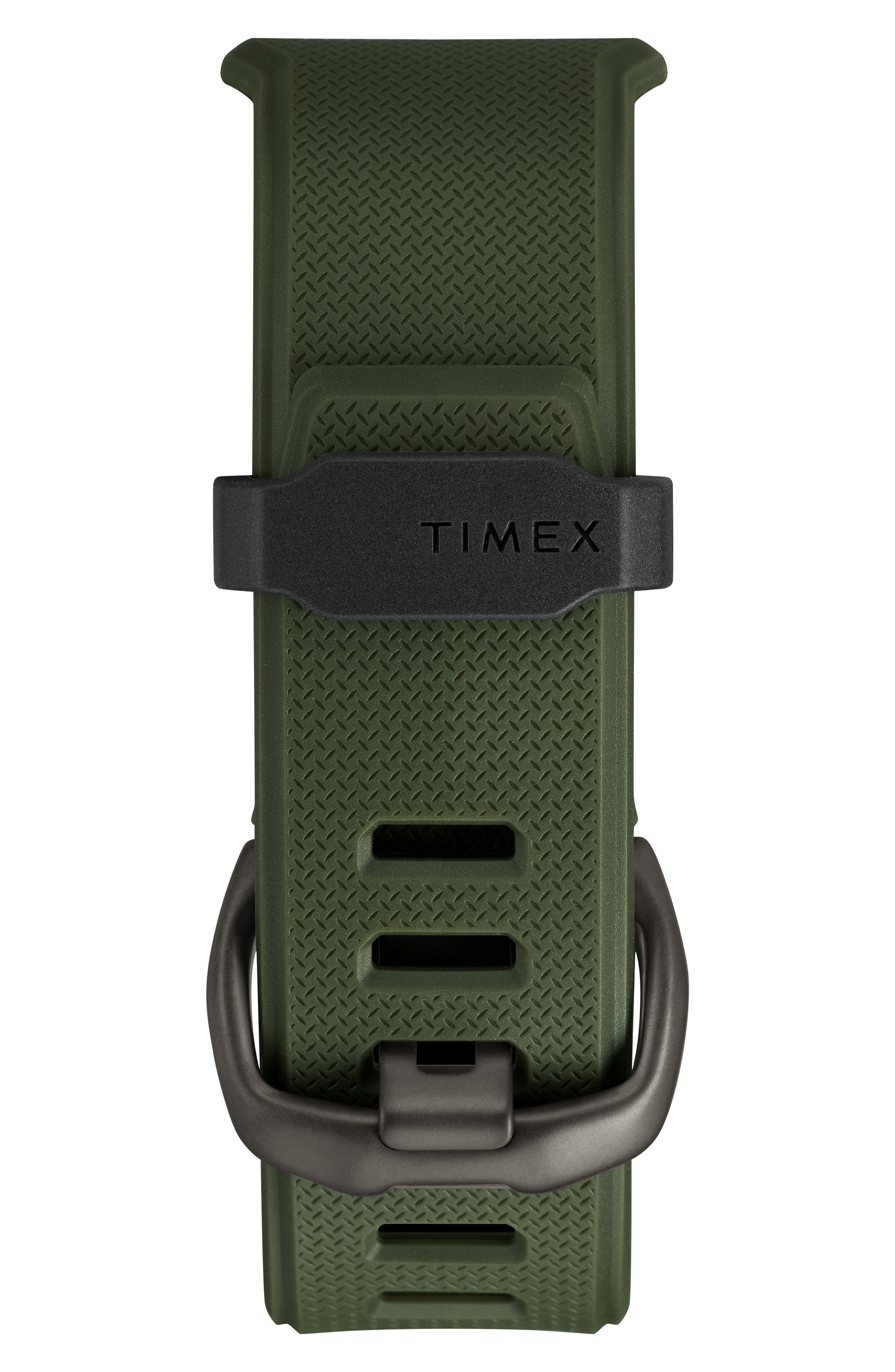 TIMEX<SUP>®</SUP>, Timex Command<sup>™</sup> Shock Digital Silicone Strap Watch, 54mm, Alternate thumbnail 2, color, OLIVE/ BLACK/ OLIVE