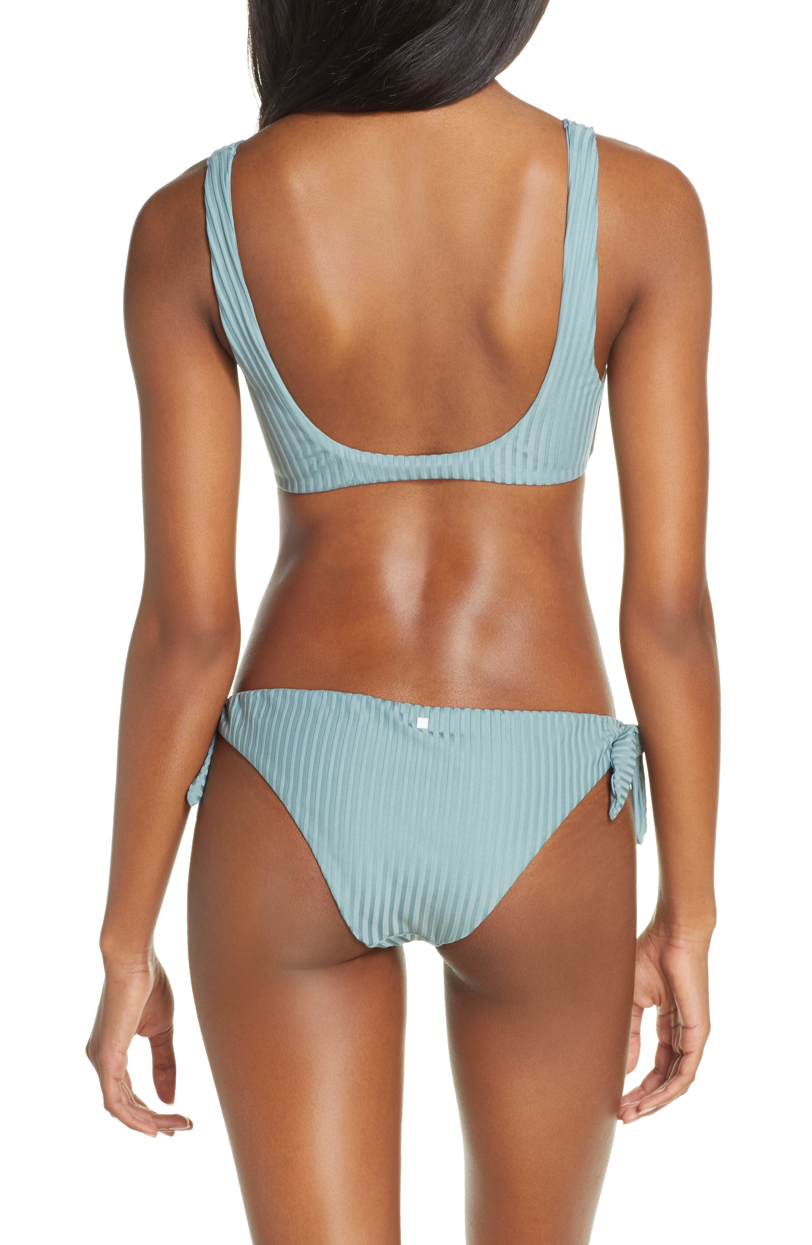 DOLCE VITA, Day Glow Swim Bottoms, Alternate thumbnail 9, color, AGAVE