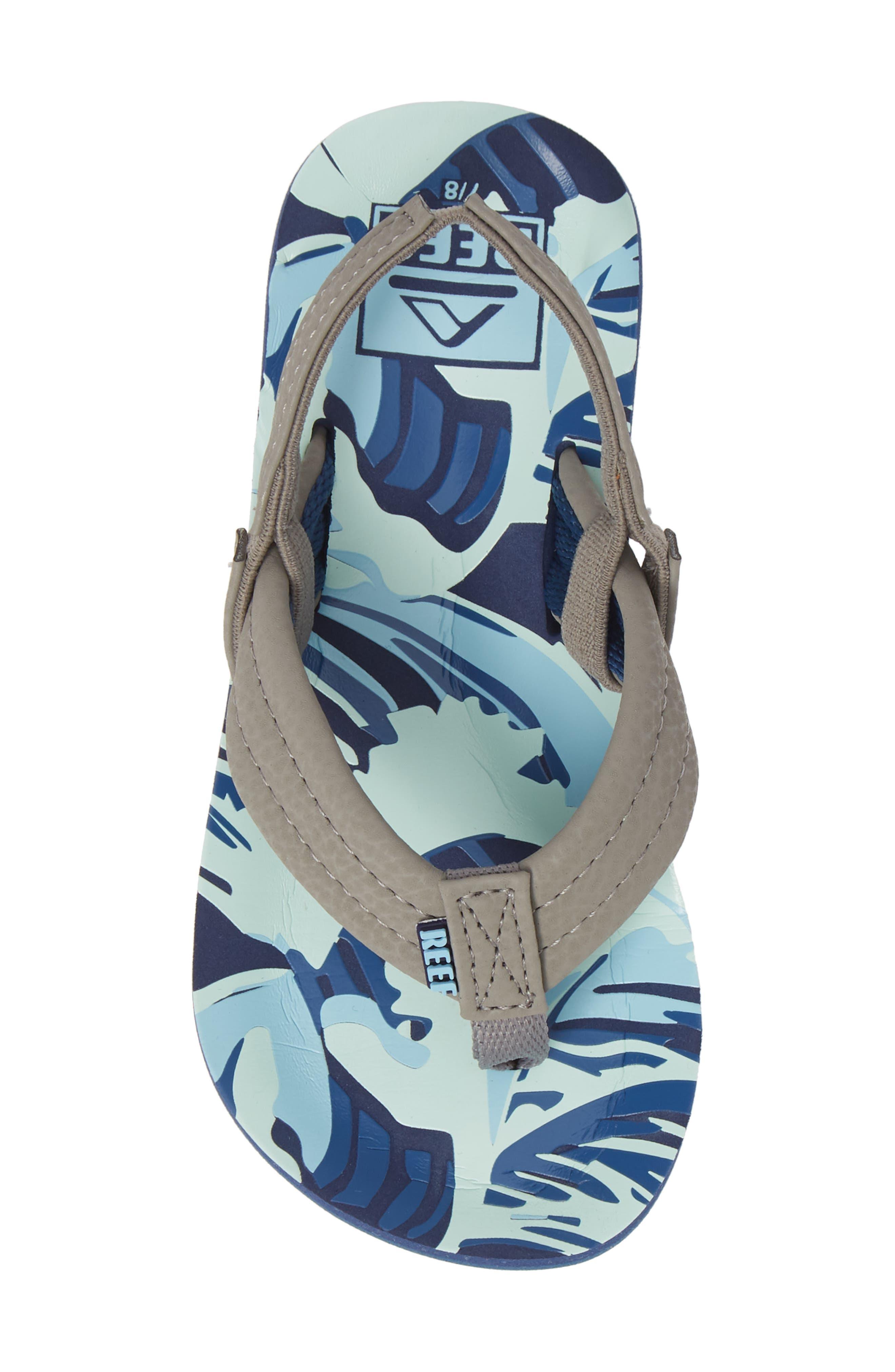 REEF, 'Ahi' Sandal, Alternate thumbnail 5, color, BLUE