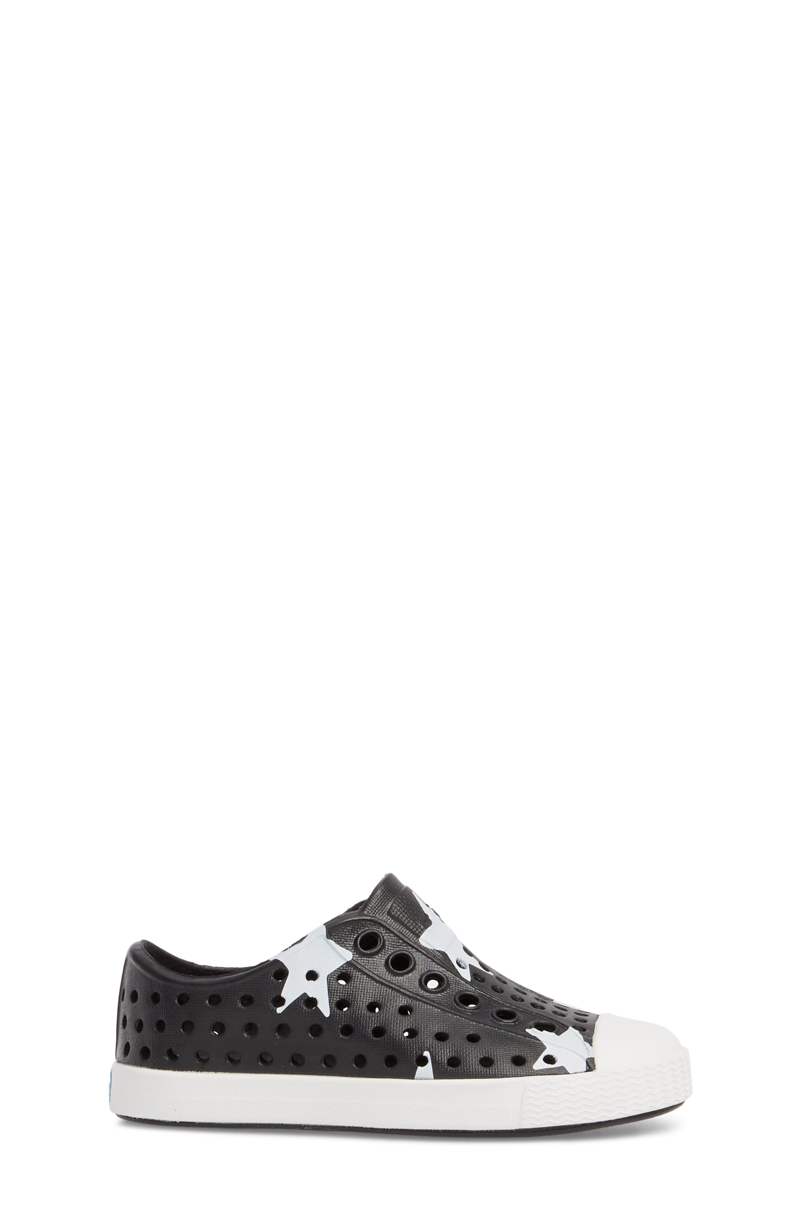NATIVE SHOES, Jefferson Quartz Slip-On Sneaker, Alternate thumbnail 3, color, JIFFY BLACK/ WHITE/ STAR