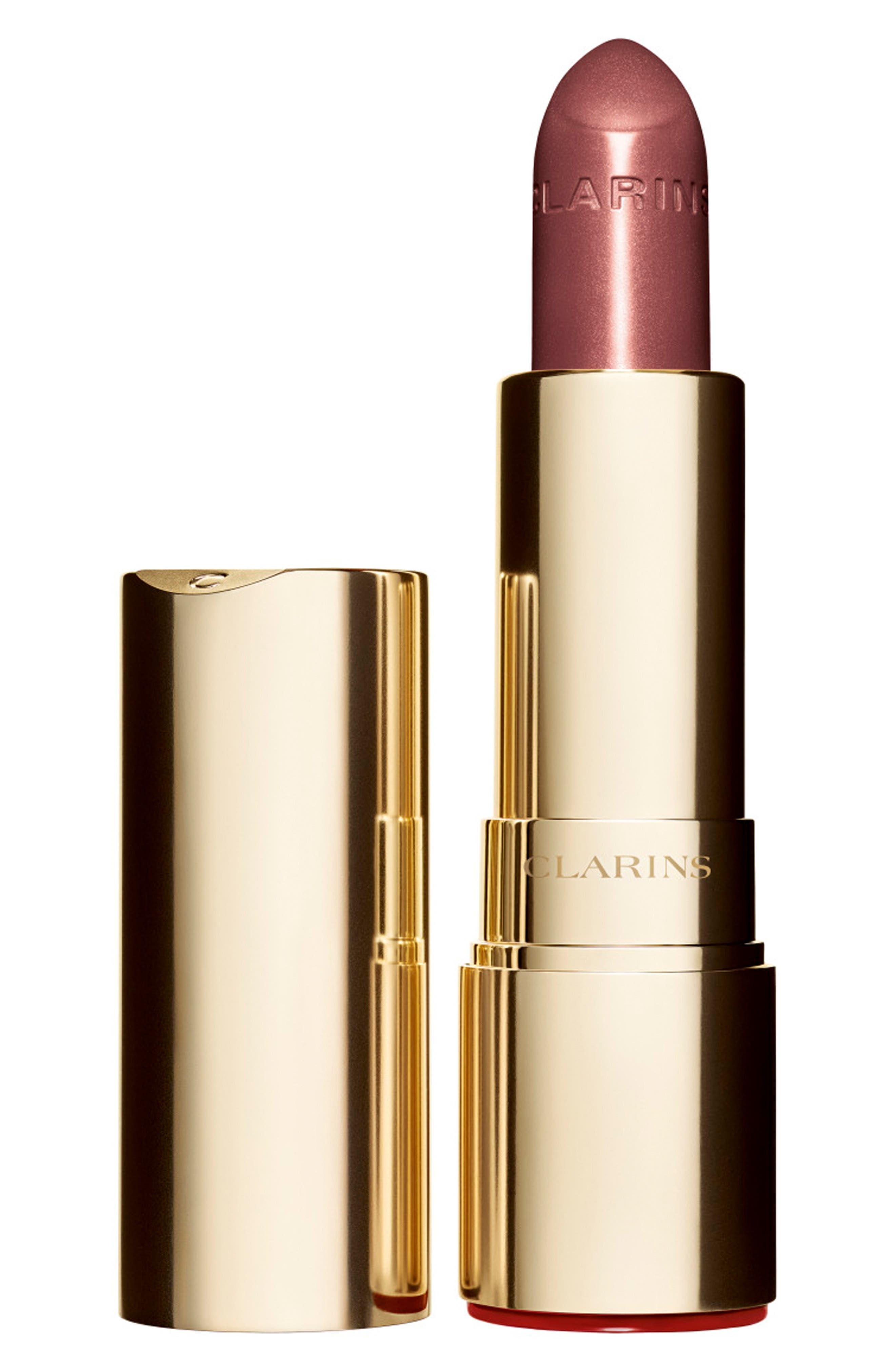 CLARINS, Joli Rouge Brilliant Sheer Lipstick, Main thumbnail 1, color, 757 NUDE BRICK