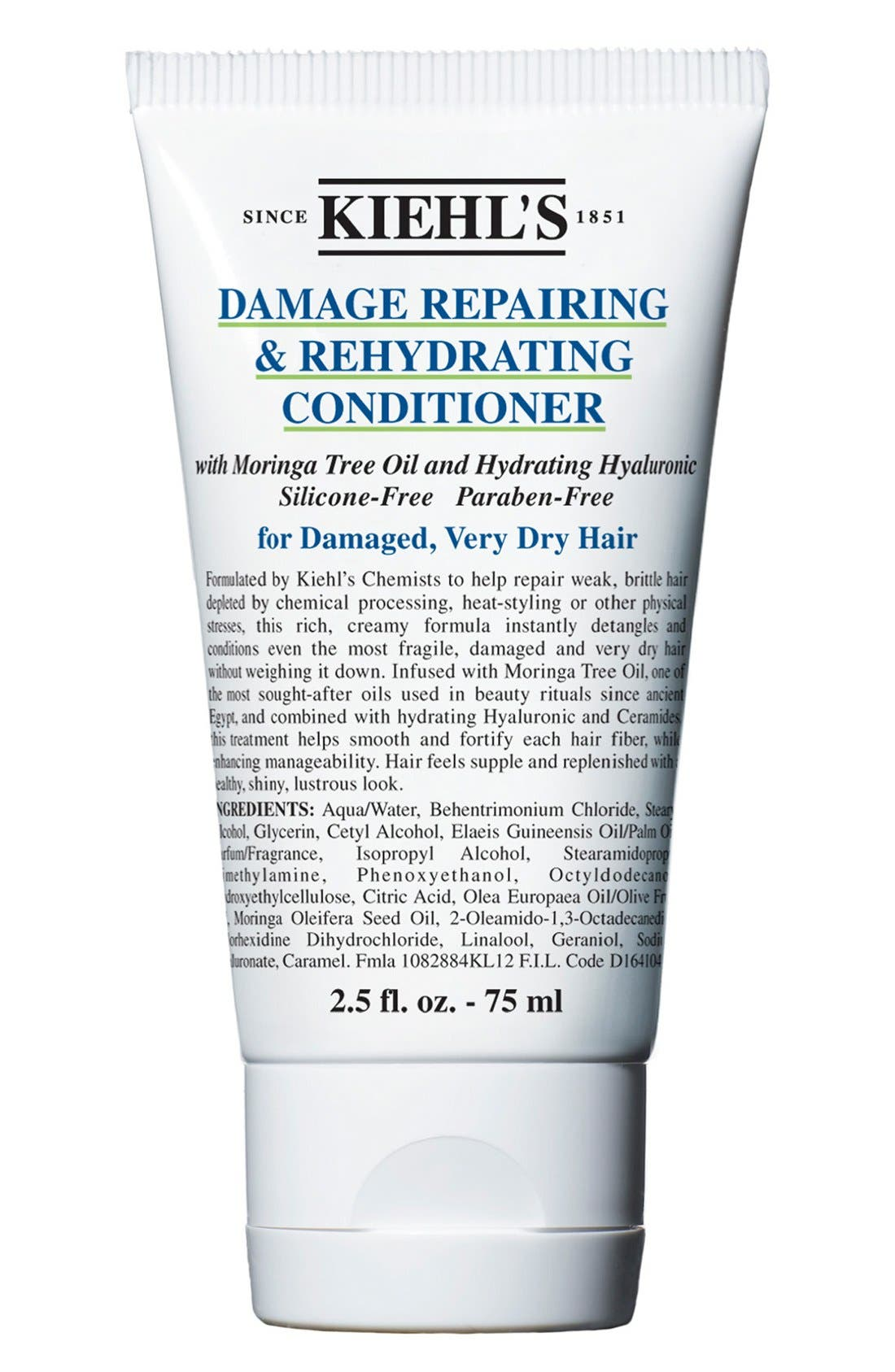 KIEHL'S SINCE 1851, Damage Repairing & Rehydrating Conditioner, Alternate thumbnail 5, color, NO COLOR