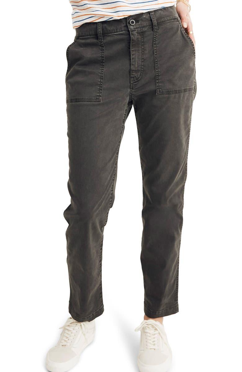 Madewell Pants STOVEPIPE FATIGUE PANTS