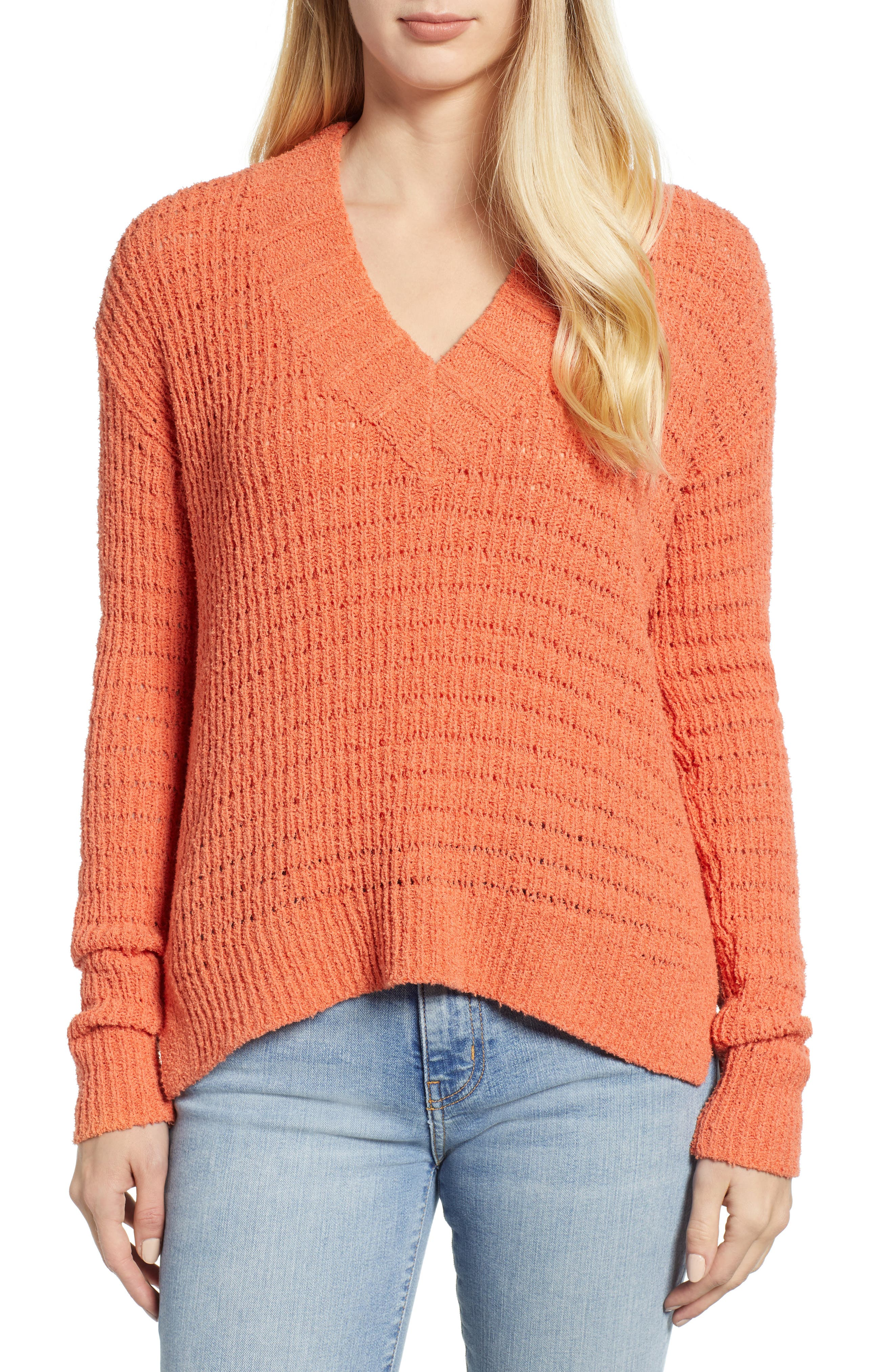 CASLON<SUP>®</SUP> Tuck Stitch Sweater, Main, color, 801