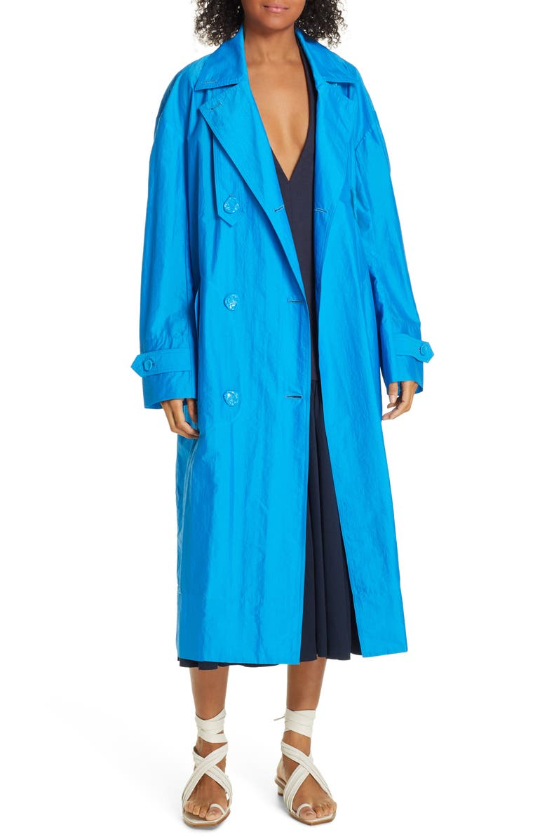 Tibi Coats DOUBLE BREASTED TRENCH COAT