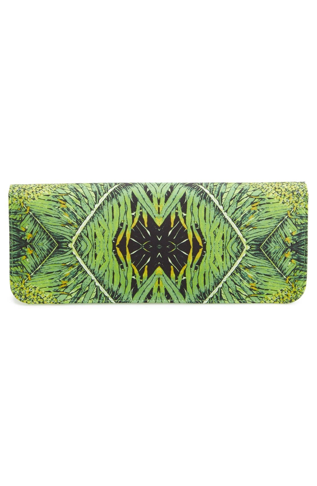 TED BAKER LONDON, 'Tropical Dove' Clutch, Alternate thumbnail 4, color, 300