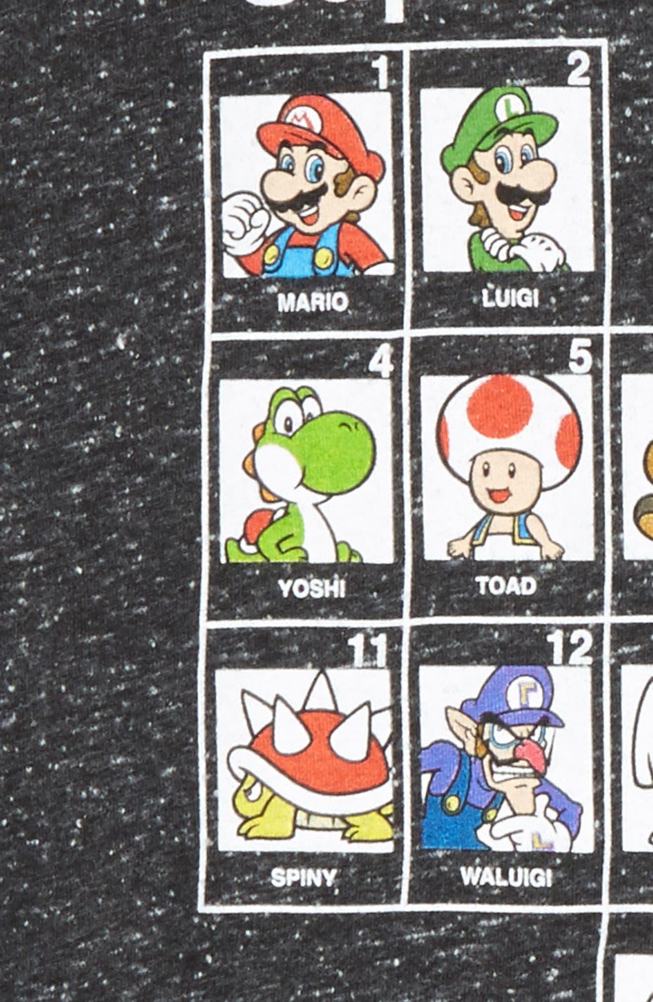 2311c1f4c782d3 Jem Periodic Table of Super Mario Graphic T-Shirt (Big Boys)