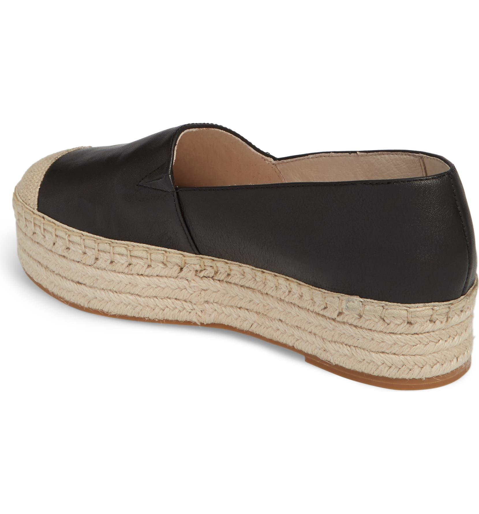 d840cf7f840c Caslon® Collins Lea Espadrille Platform Slip-On (Women)