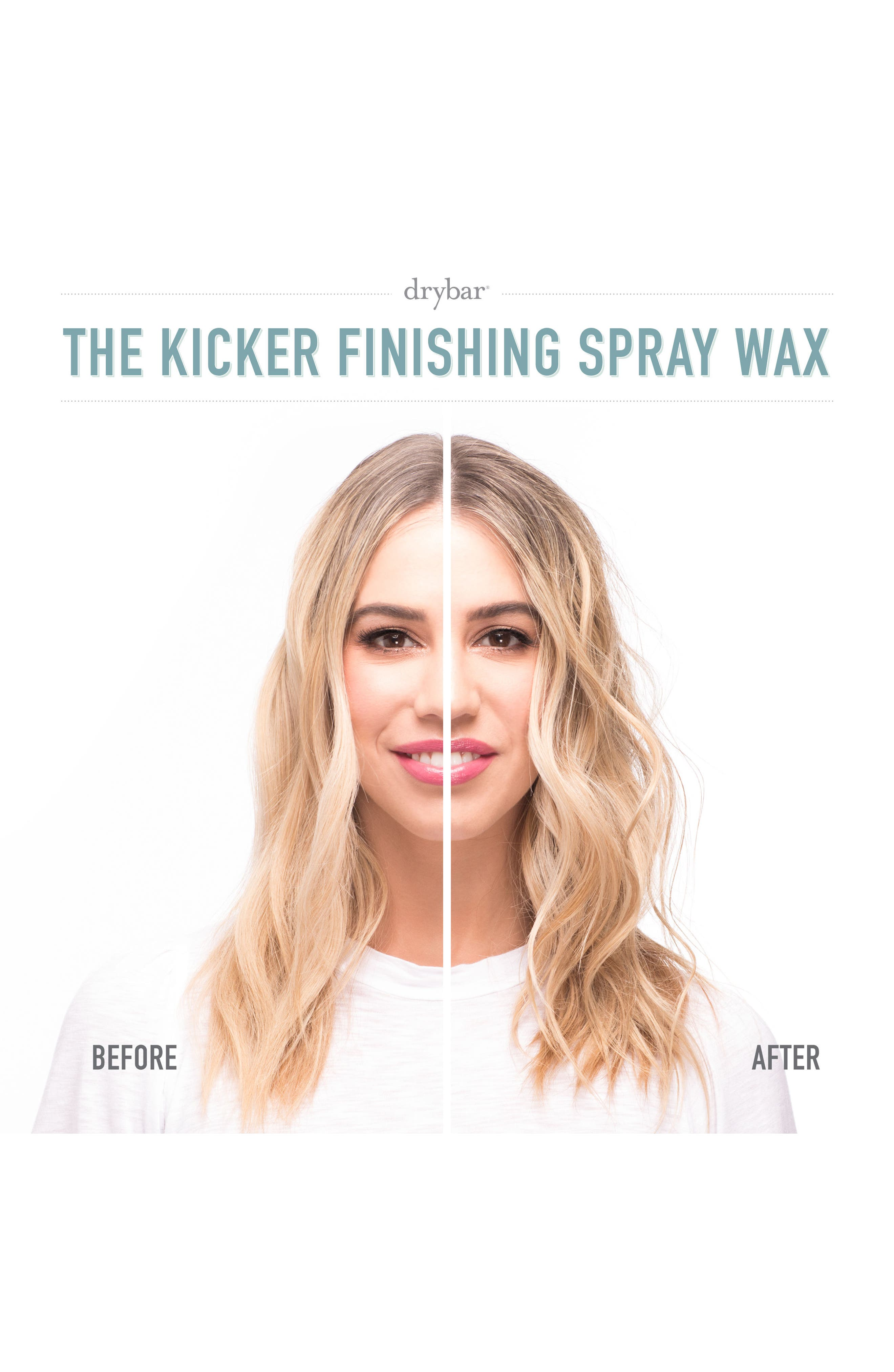 DRYBAR, The Kicker Finishing Spray Wax, Alternate thumbnail 6, color, NO COLOR
