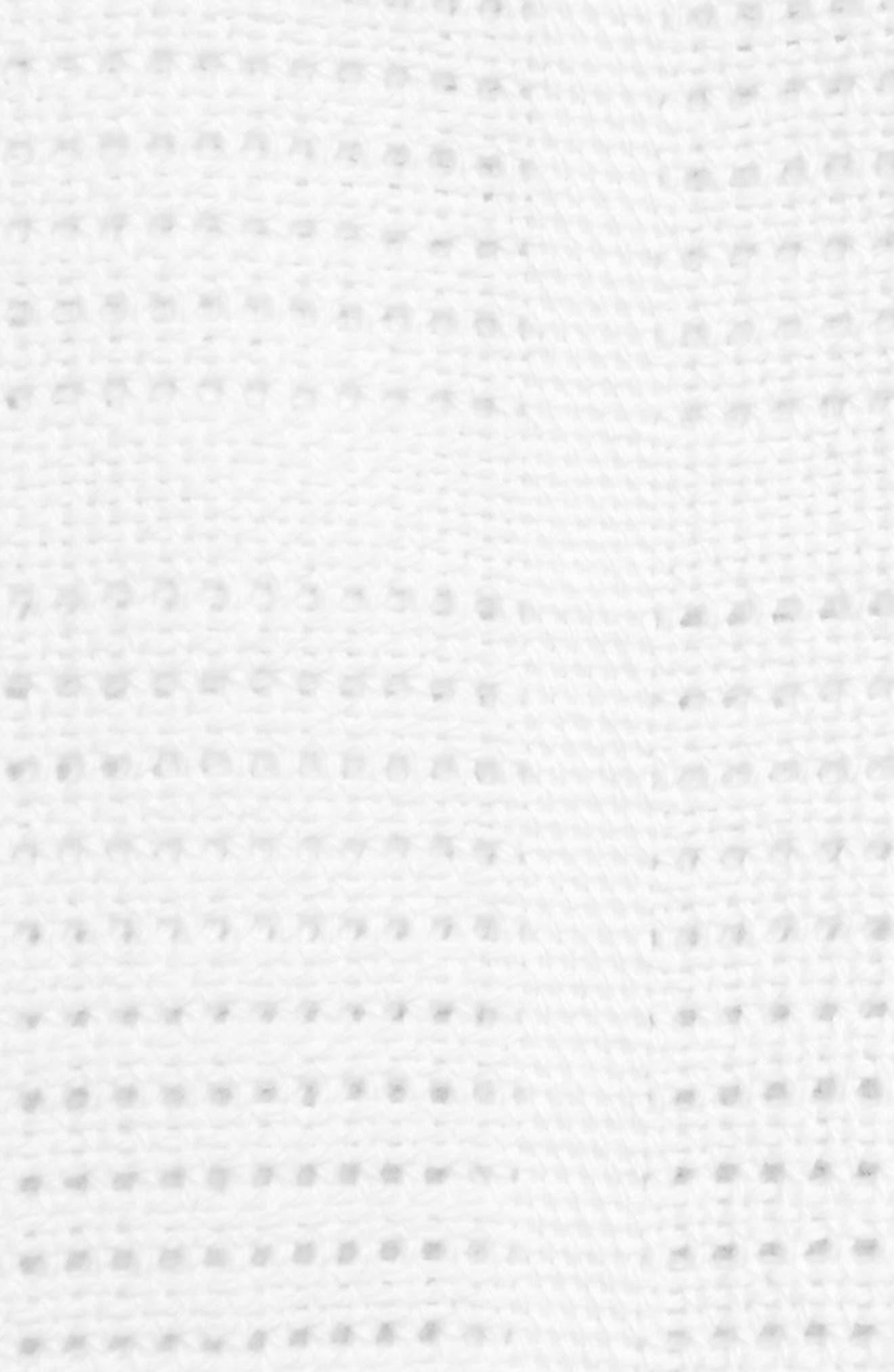 LULUJO, Cellular Baby Blanket, Alternate thumbnail 2, color, WHITE