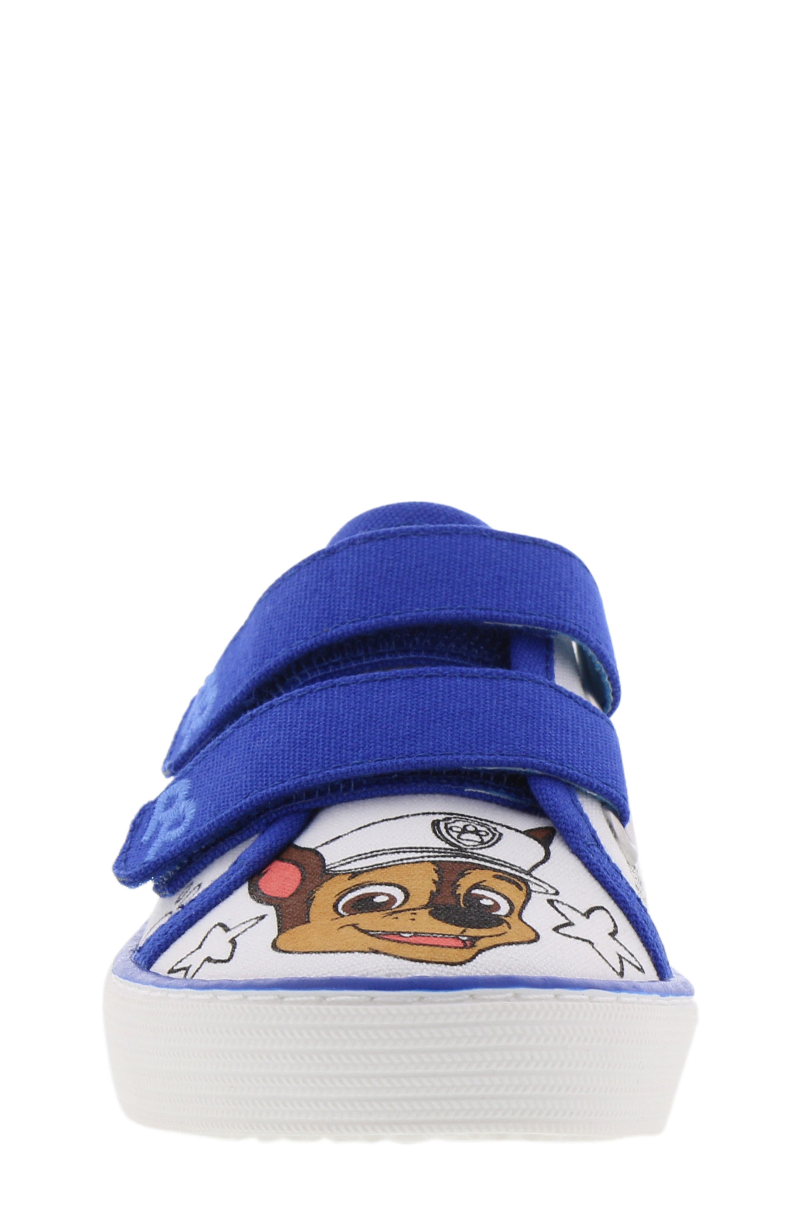 PAW PATROL, Chase Color DIY Sneaker, Alternate thumbnail 4, color, 118
