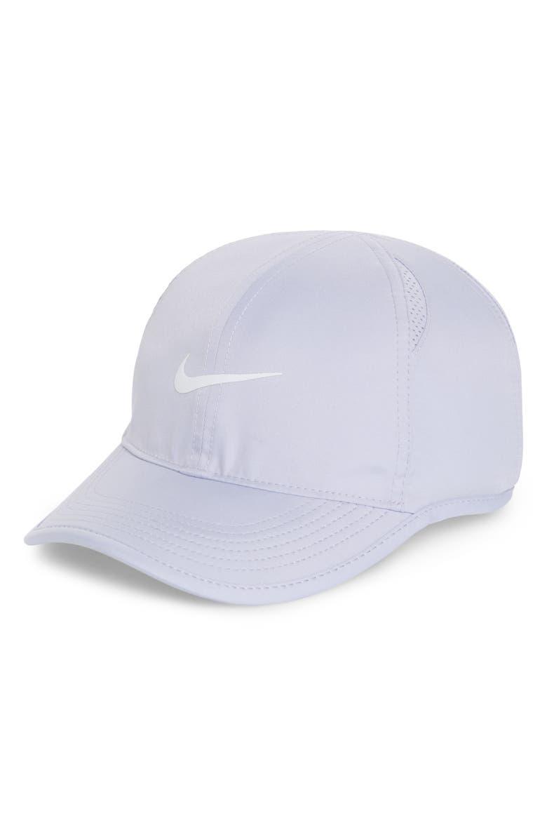 300e8cc8457 Nike  Feather Light  Dri-Fit Cap - Purple In Oxygen Purple