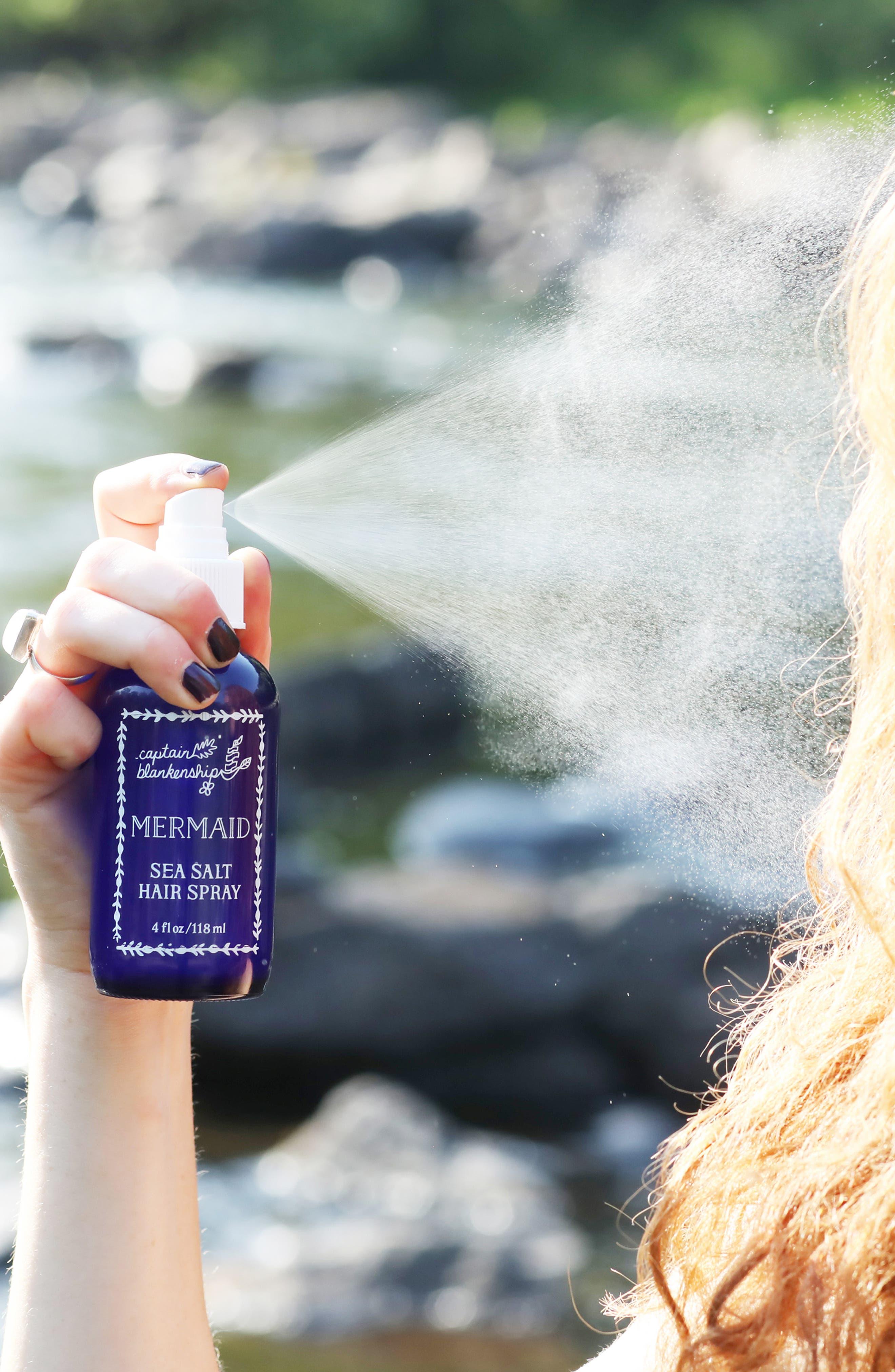CAPTAIN BLANKENSHIP, Mermaid Sea Salt Hair Spray, Alternate thumbnail 2, color, 040