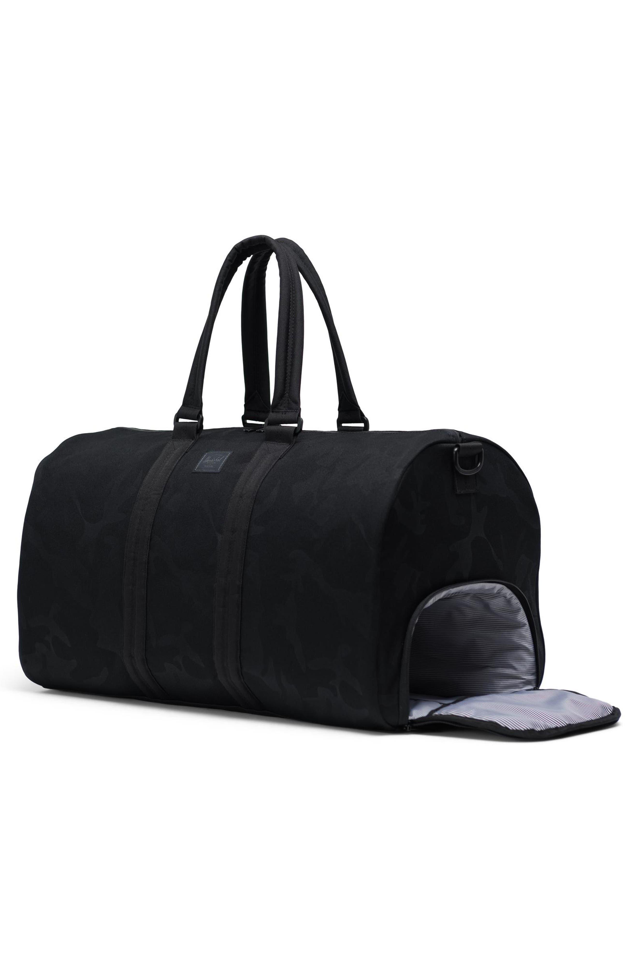 HERSCHEL SUPPLY CO., Duffle Bag, Alternate thumbnail 2, color, BLACK/ TONAL CAMO