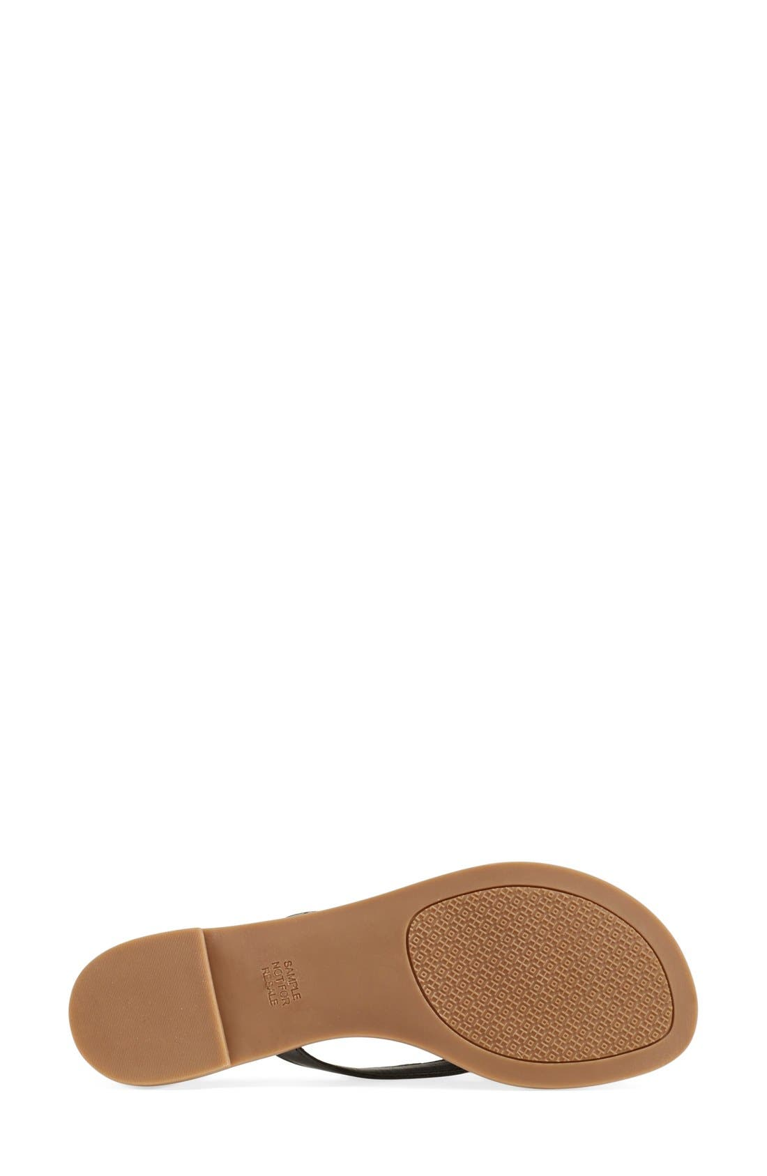 TORY BURCH, 'Terra' Flip Flop, Alternate thumbnail 2, color, 001