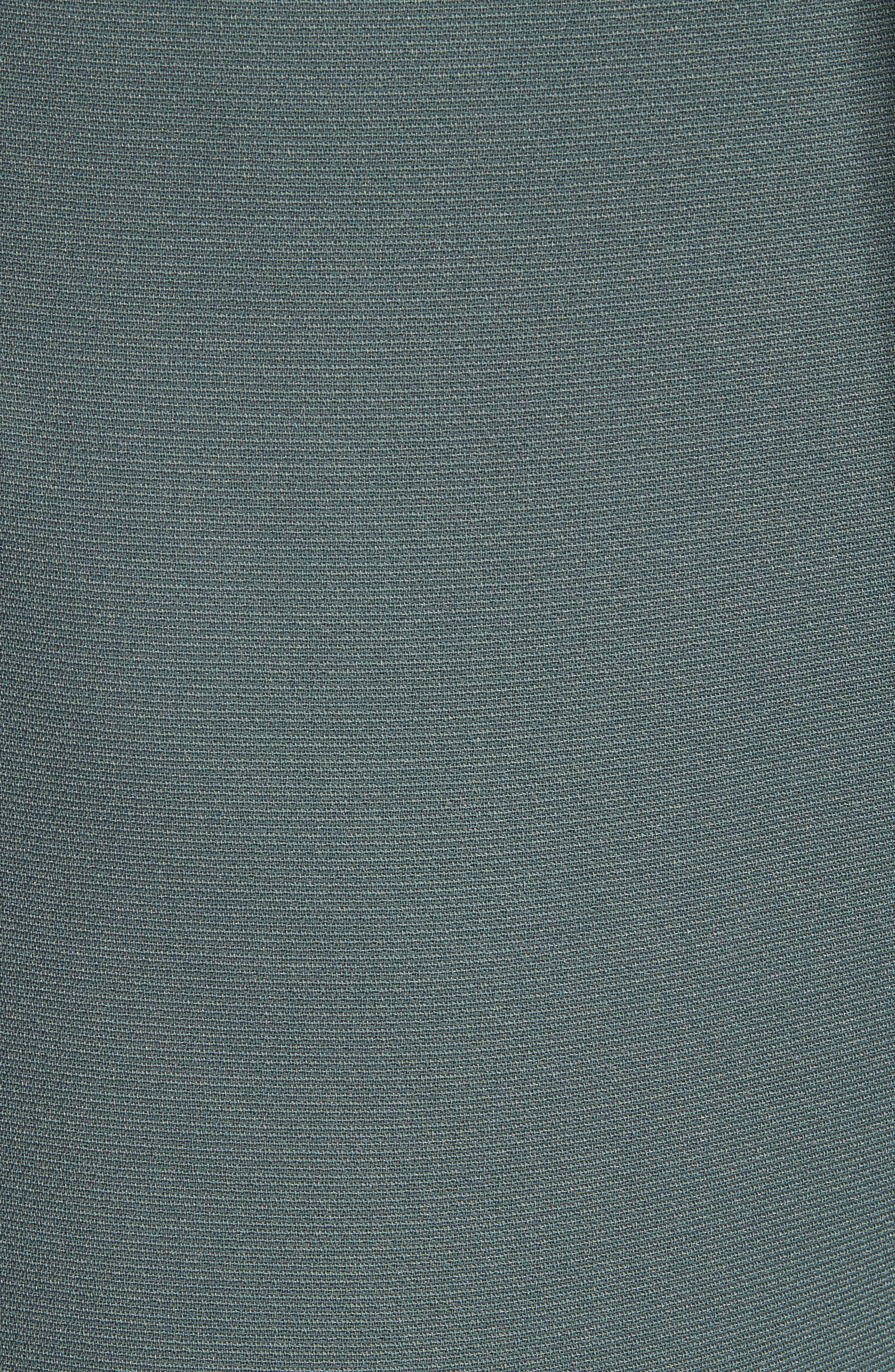 CHELSEA28, Tie Waist Ankle Pants, Alternate thumbnail 6, color, GREY URBAN