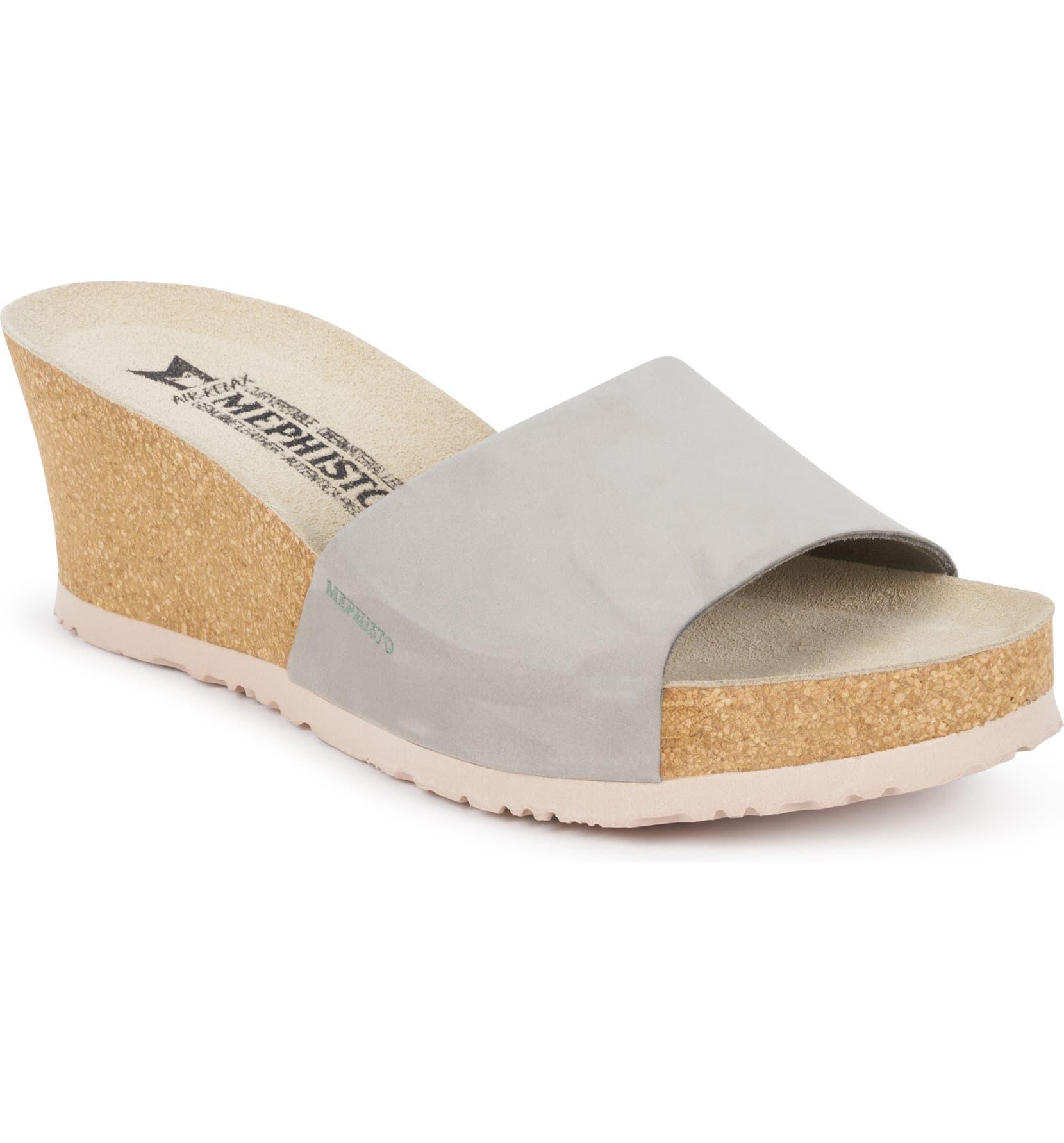e15ea8be41b Mephisto Lise Platform Wedge Sandal (Women)