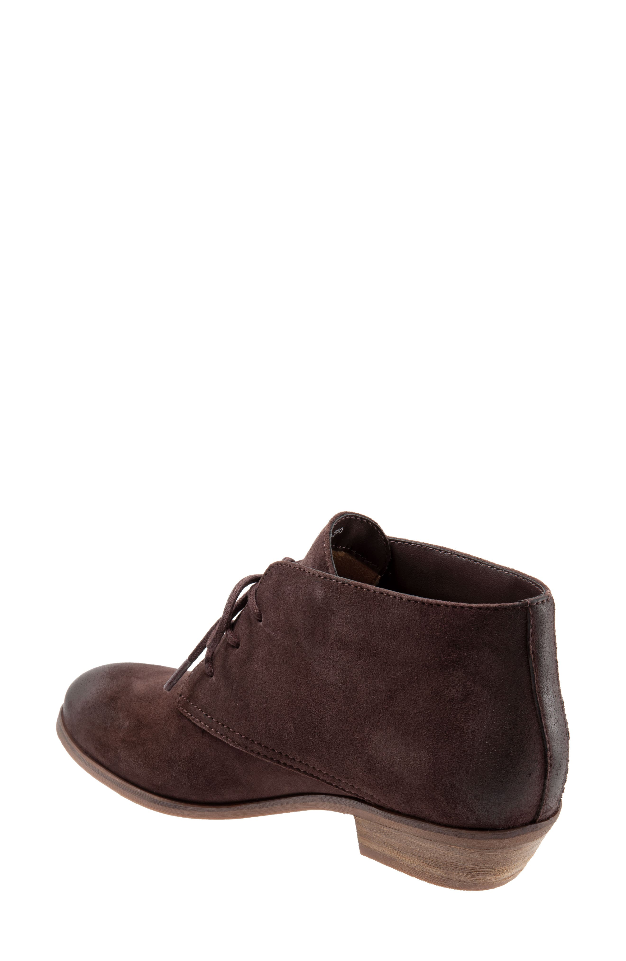 SOFTWALK<SUP>®</SUP>, Ramsey Chukka Boot, Alternate thumbnail 2, color, DARK BROWN LEATHER
