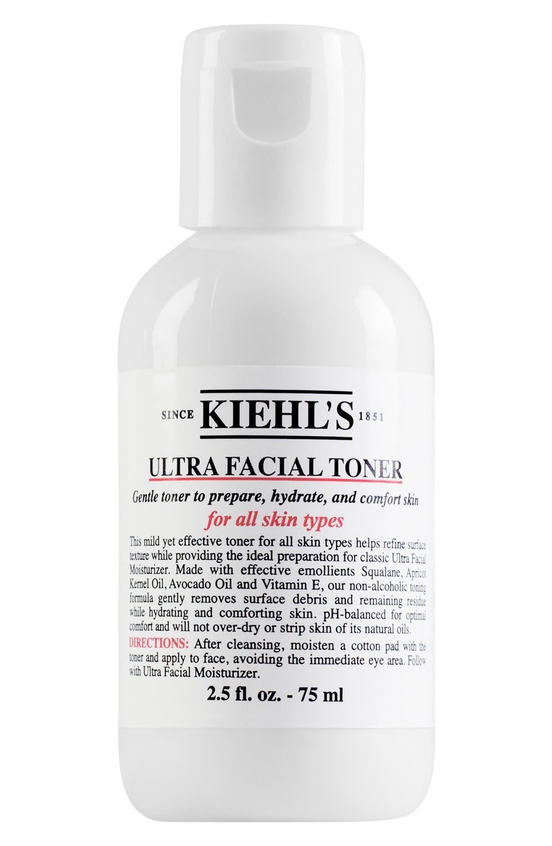 KIEHL'S SINCE 1851 Ultra Facial Toner, Main, color, NO COLOR