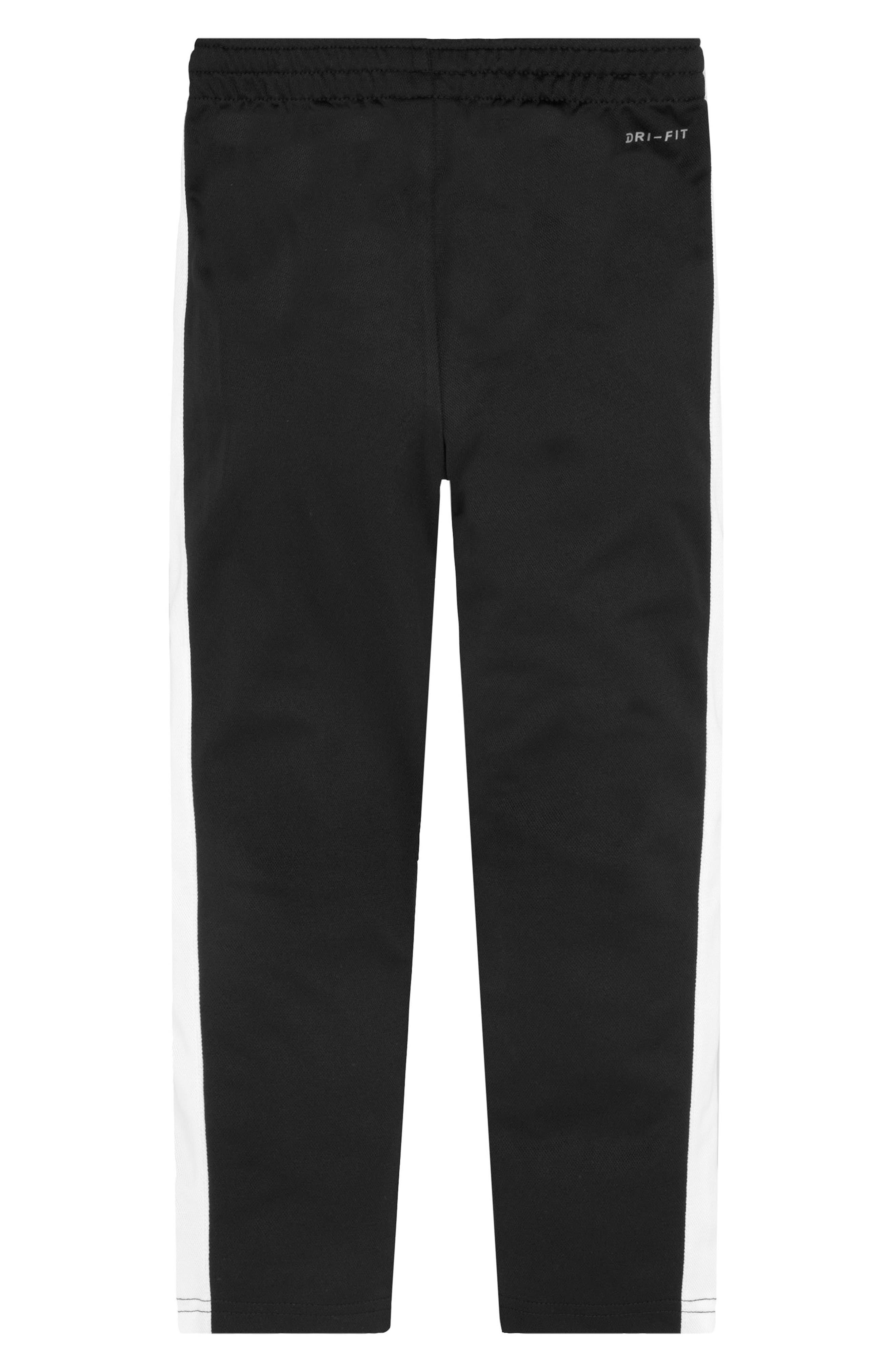 NIKE, Performance Knit Track Pants, Alternate thumbnail 2, color, BLACK