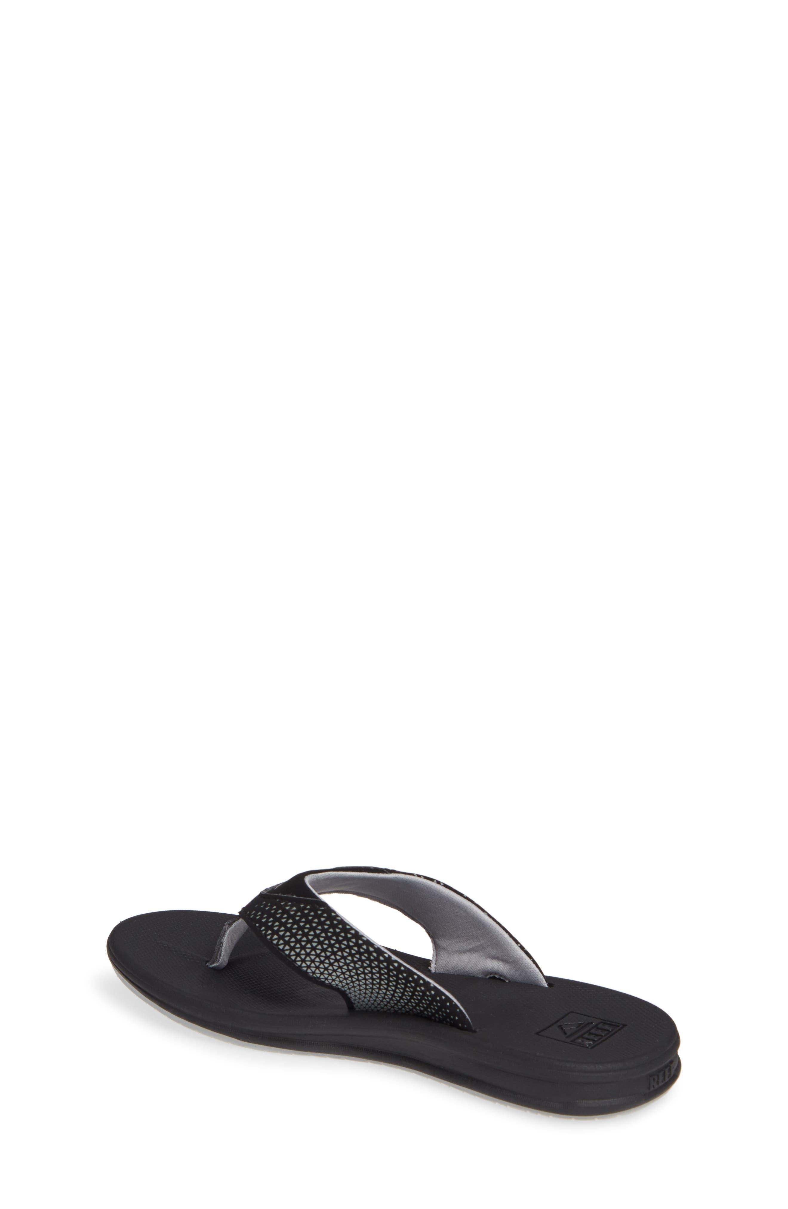 REEF, Grom Rover Water Friendly Sandal, Alternate thumbnail 2, color, BLACK