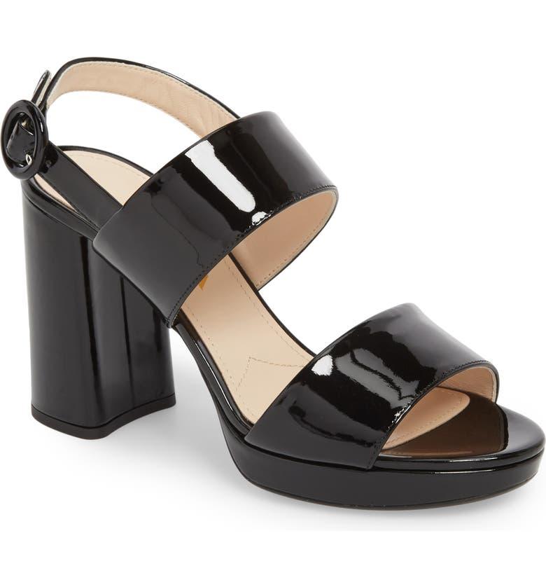 e695bfc3063b Prada Slingback Platform Sandal (Women) (Nordstrom Exclusive ...