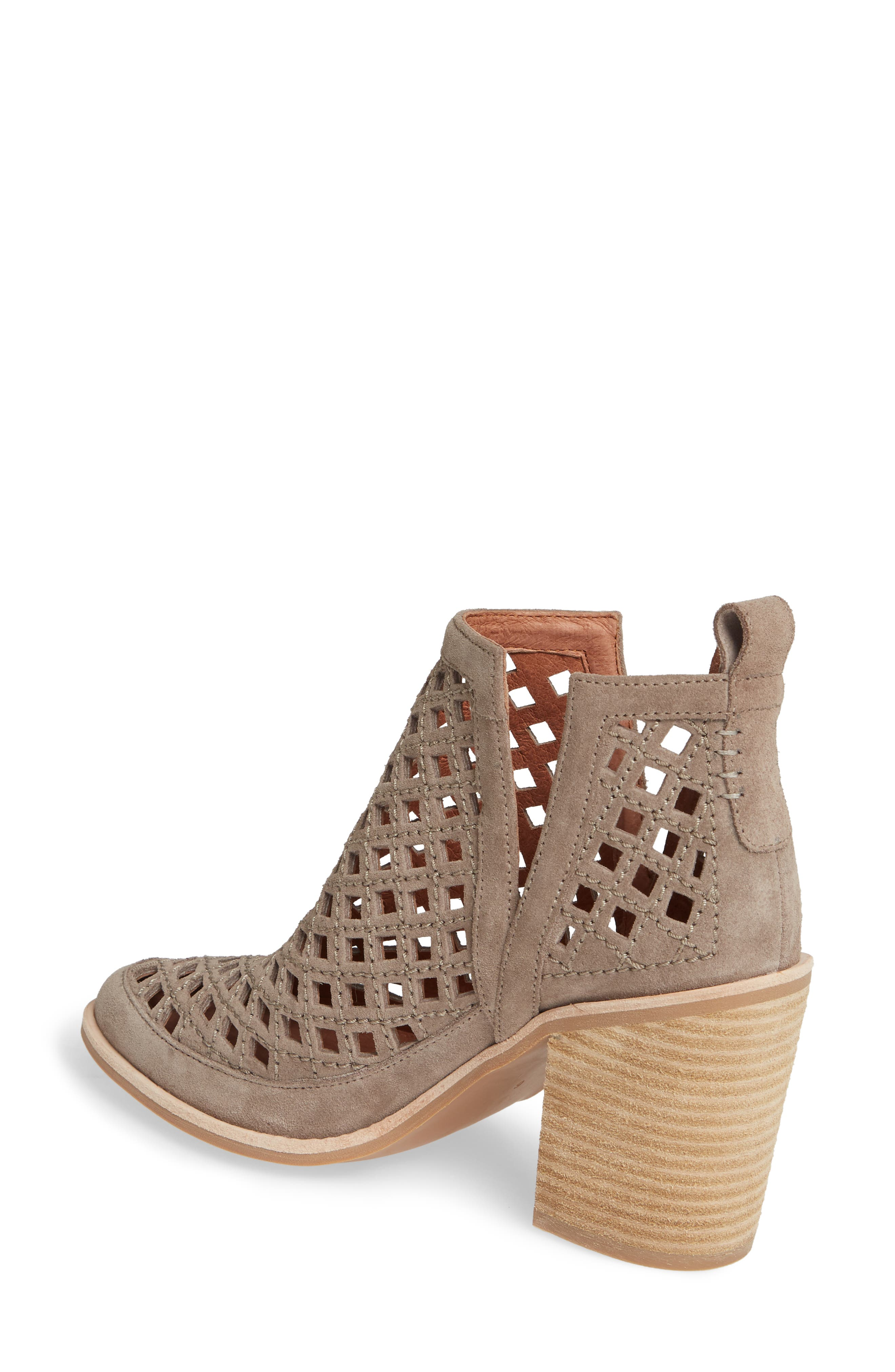 JEFFREY CAMPBELL, Kamet Bootie, Alternate thumbnail 2, color, TAUPE SUEDE