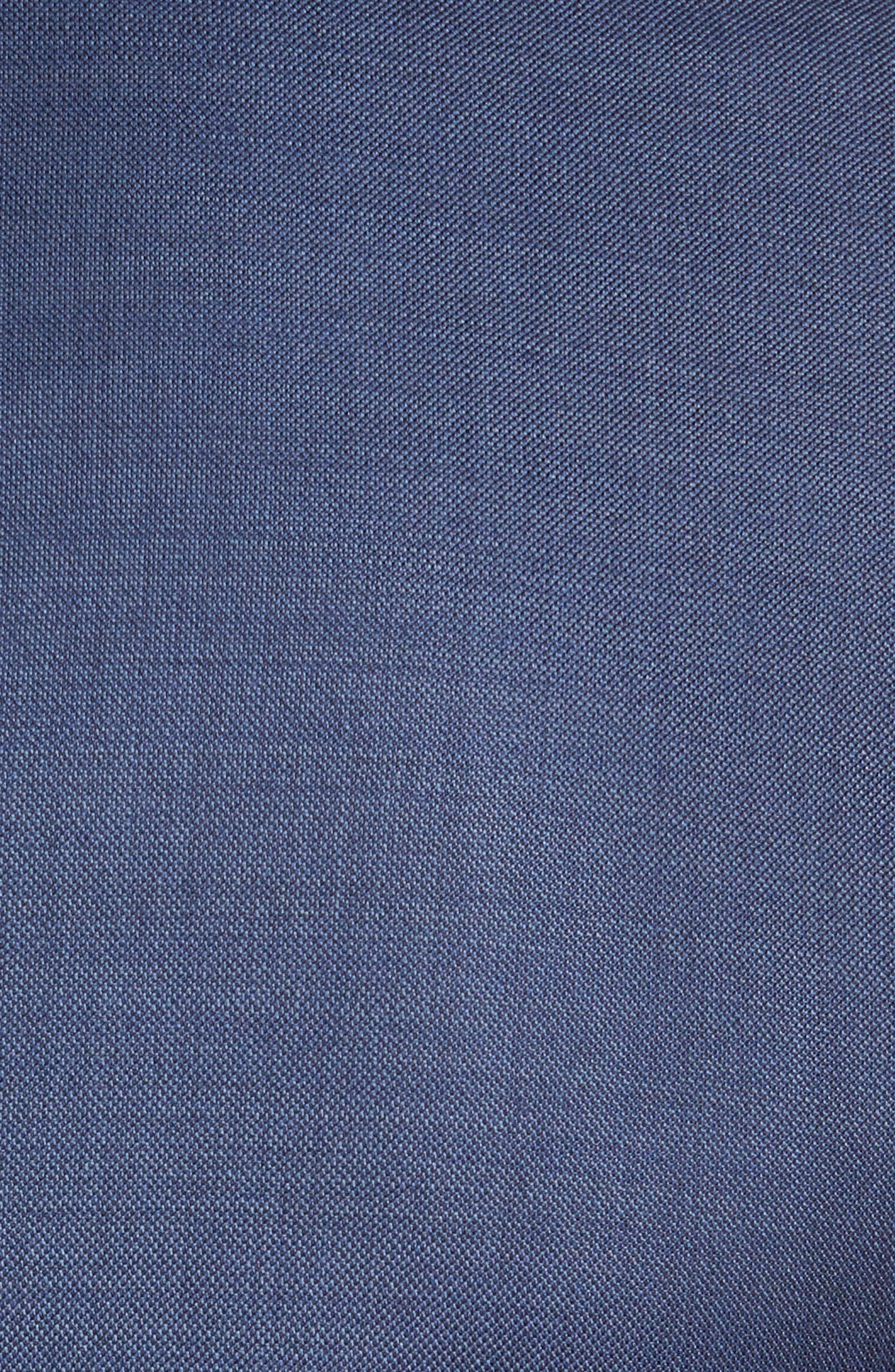 PETER MILLAR, Flynn Classic Fit Wool Suit, Alternate thumbnail 5, color, BLUE