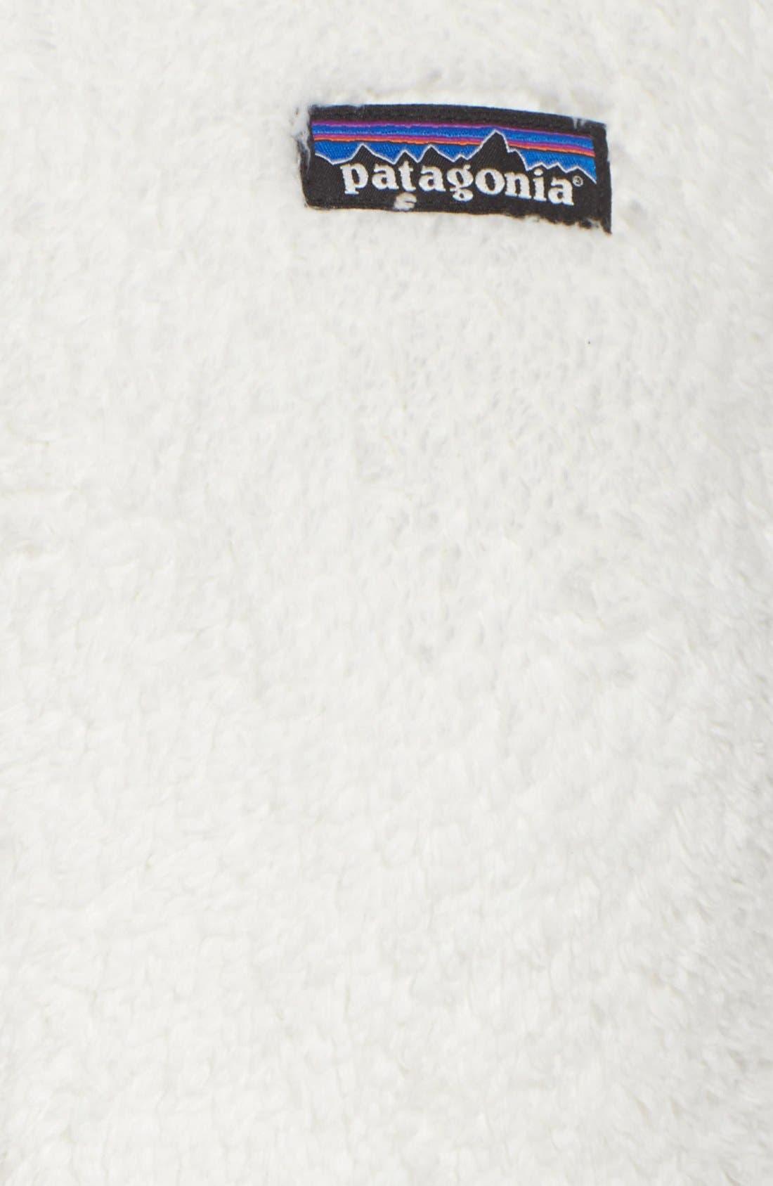PATAGONIA, Los Gatos Fleece Jacket, Alternate thumbnail 3, color, BIRCH WHITE