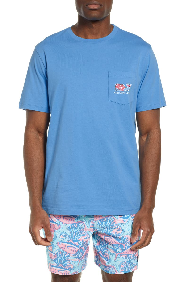 Vineyard Vines T-shirts SWIMMING WITH FISH T-SHIRT